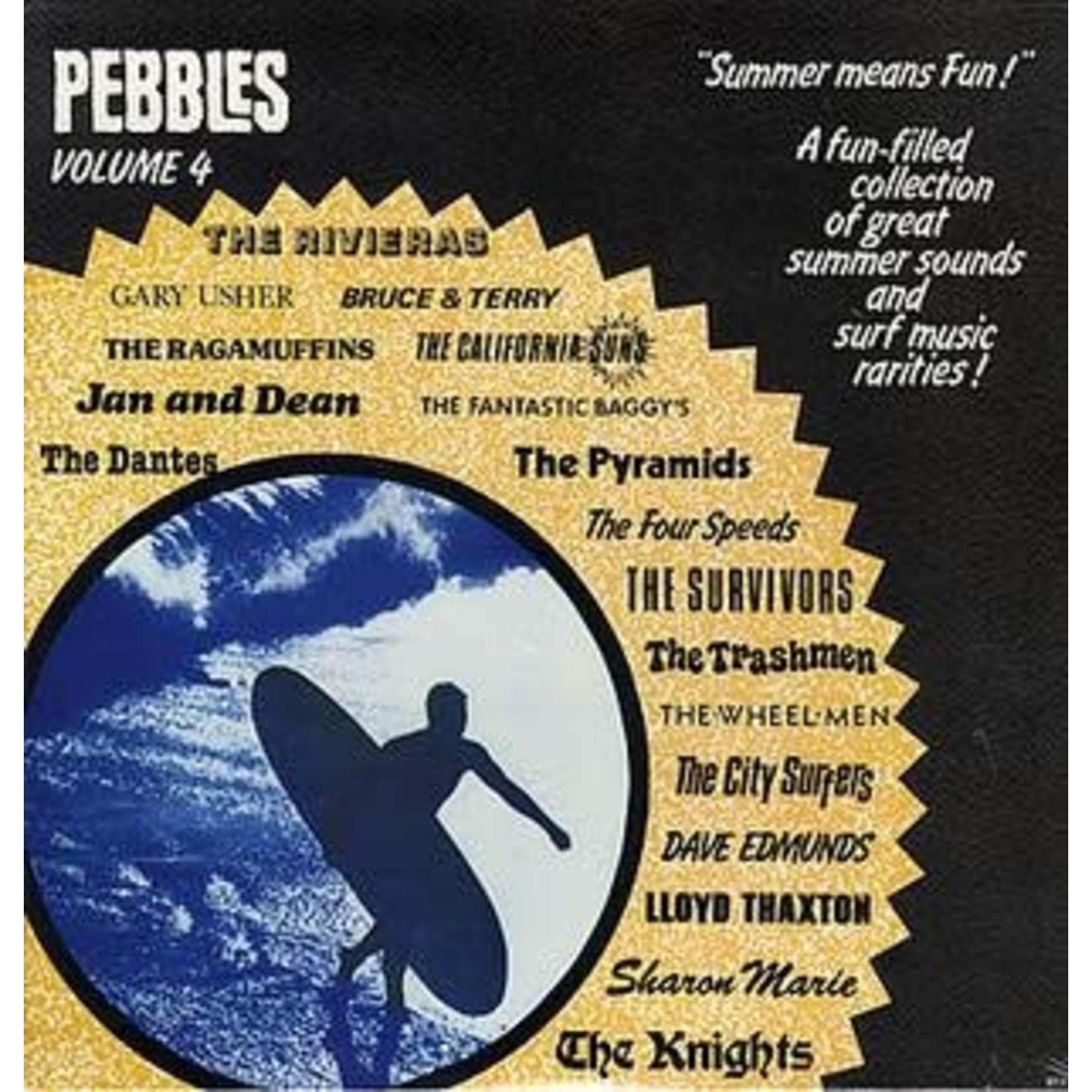 Vinyl Various Artists - Pebbles Vol.4