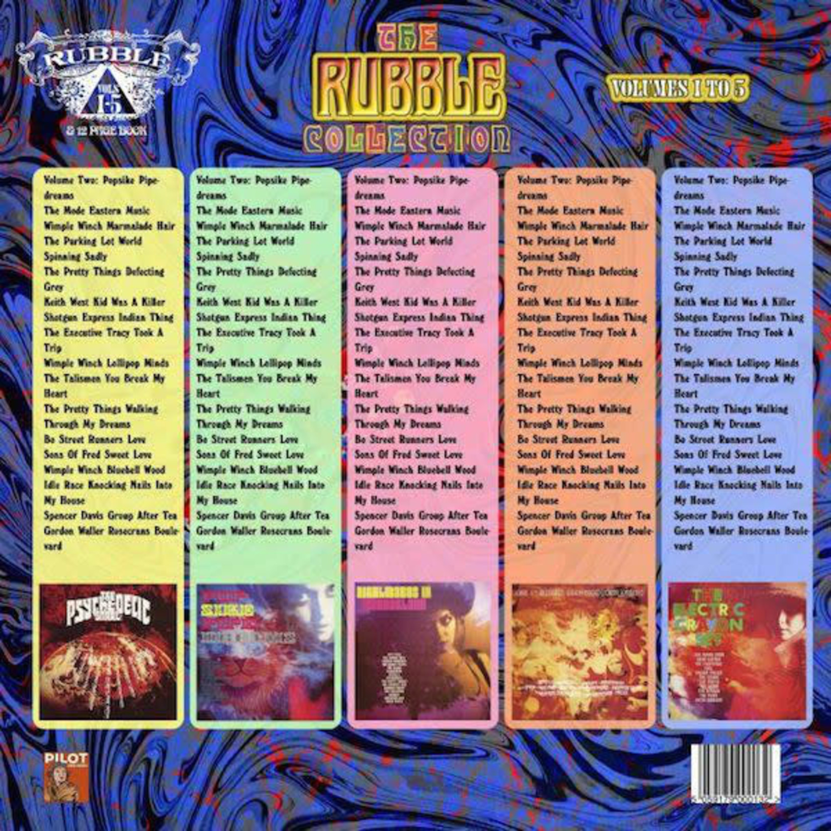 Vinyl The Rubble Collection: Volume 1 to 5