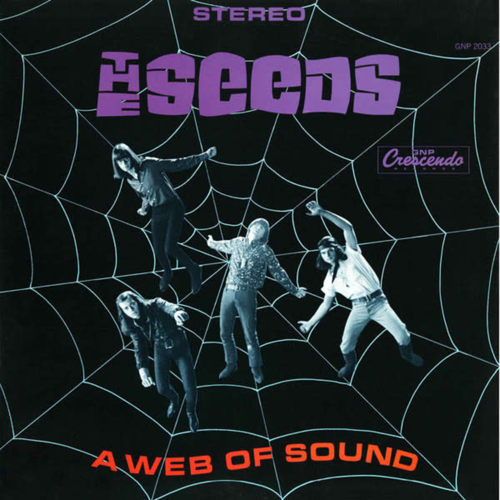 Vinyl The Seeds - Web Of Sound (50th Anniversary Edition)