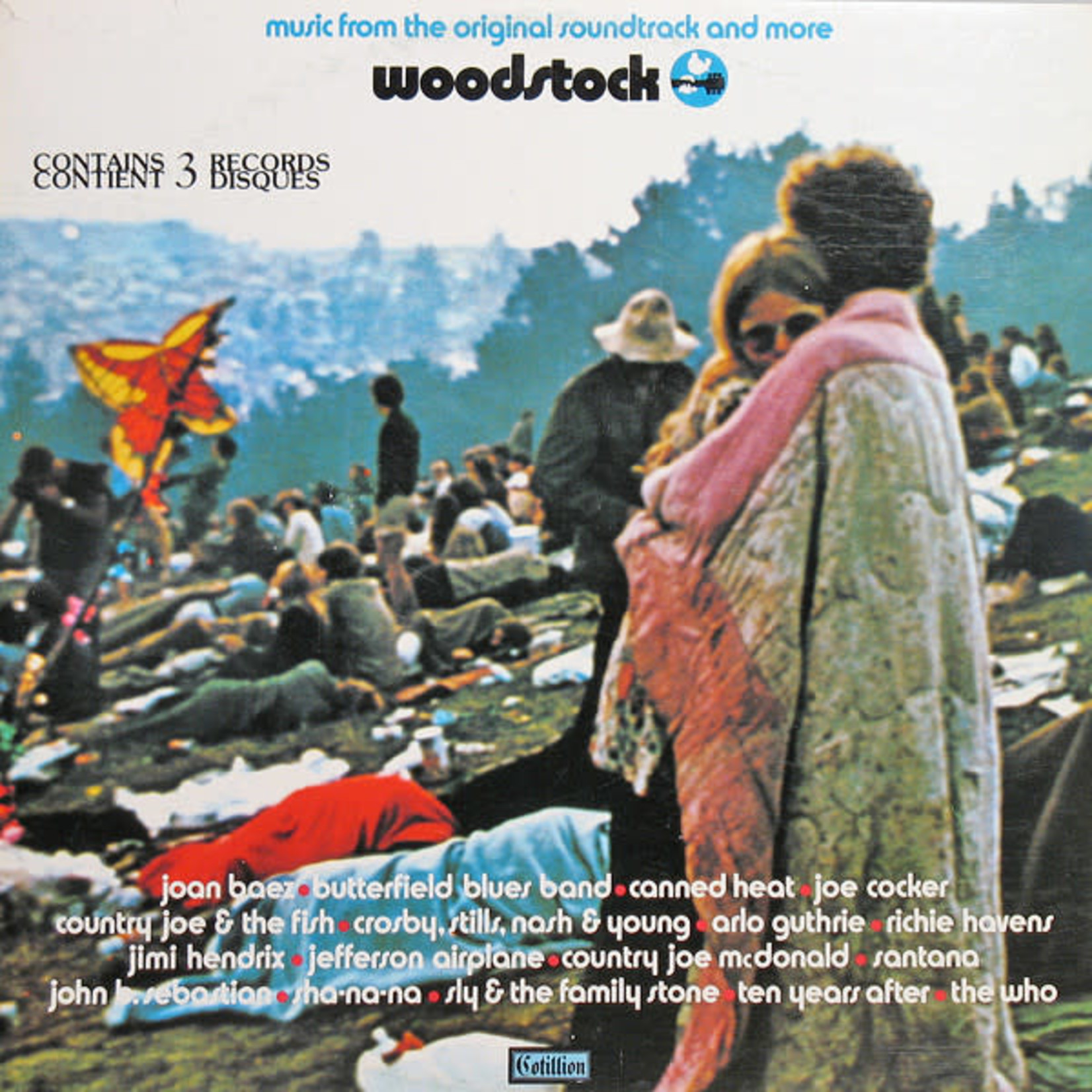 Vinyl Woodstock 1 - Soundtrack