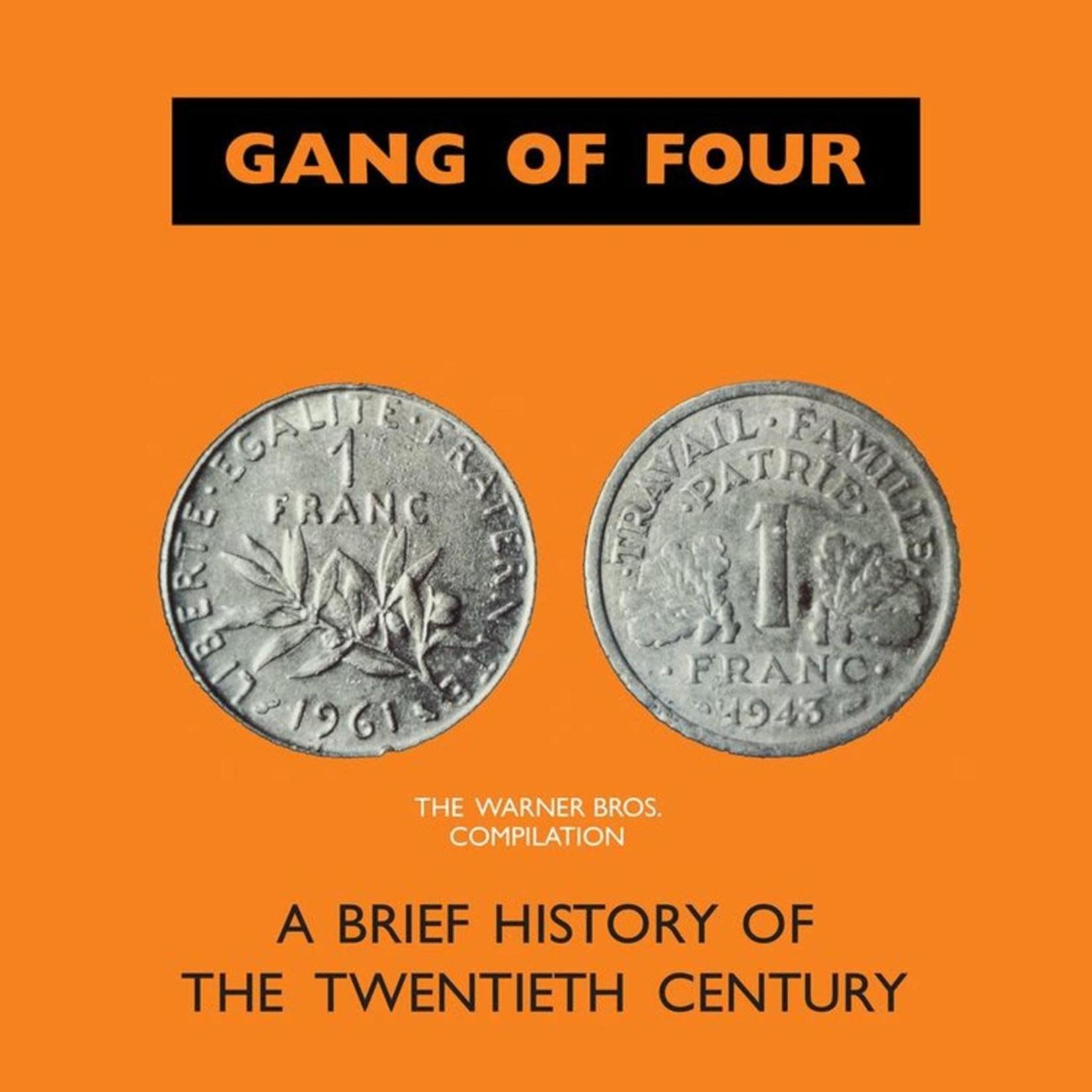 Vinyl Gang Of Four - A Brief History Of The Twentieth Century