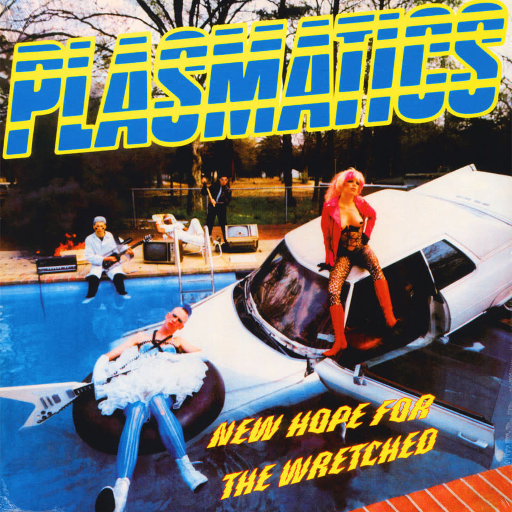 Vinyl Plasmatics - New Hope For The Wretched