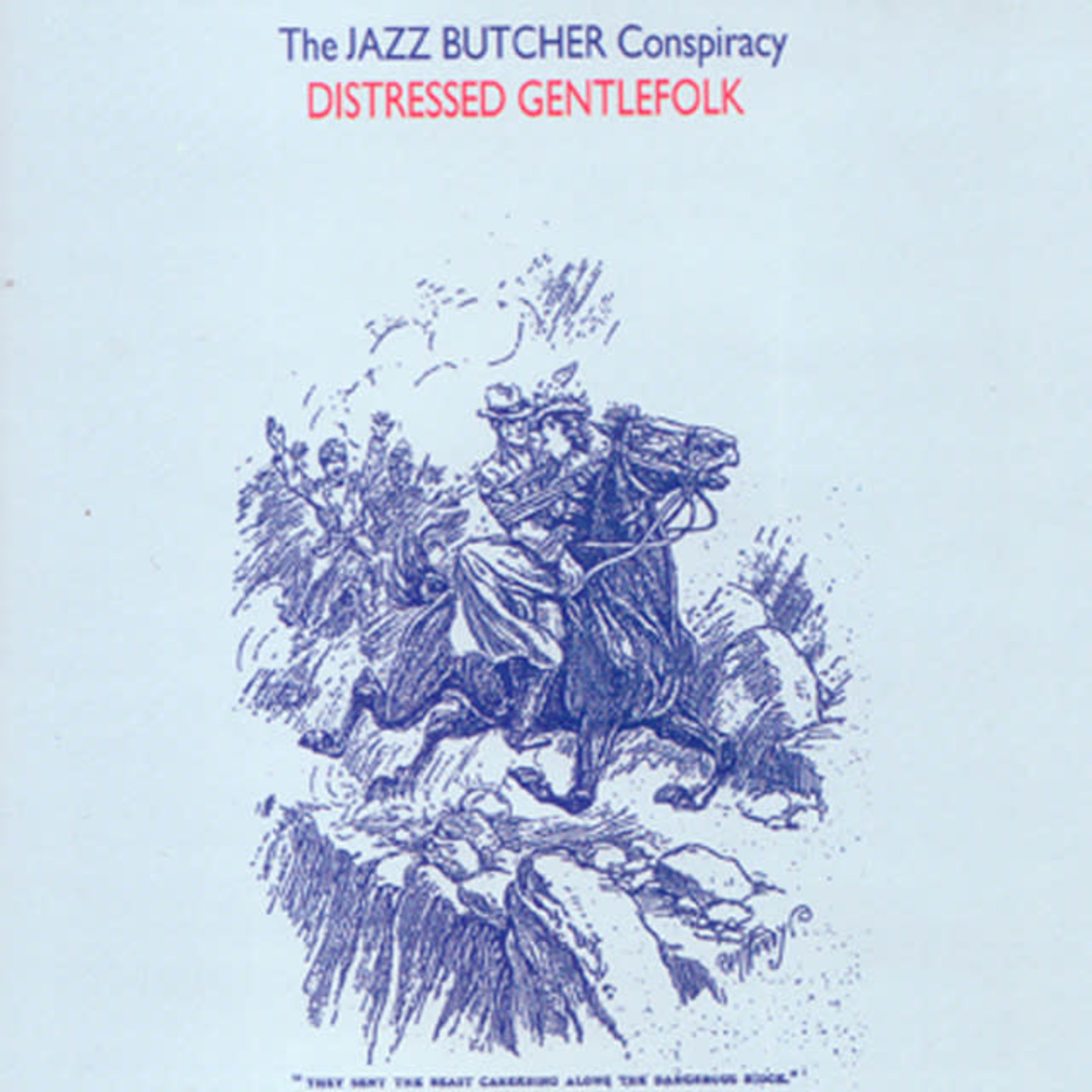 Vinyl The Jazz Butcher - Distressed Gentlefolk