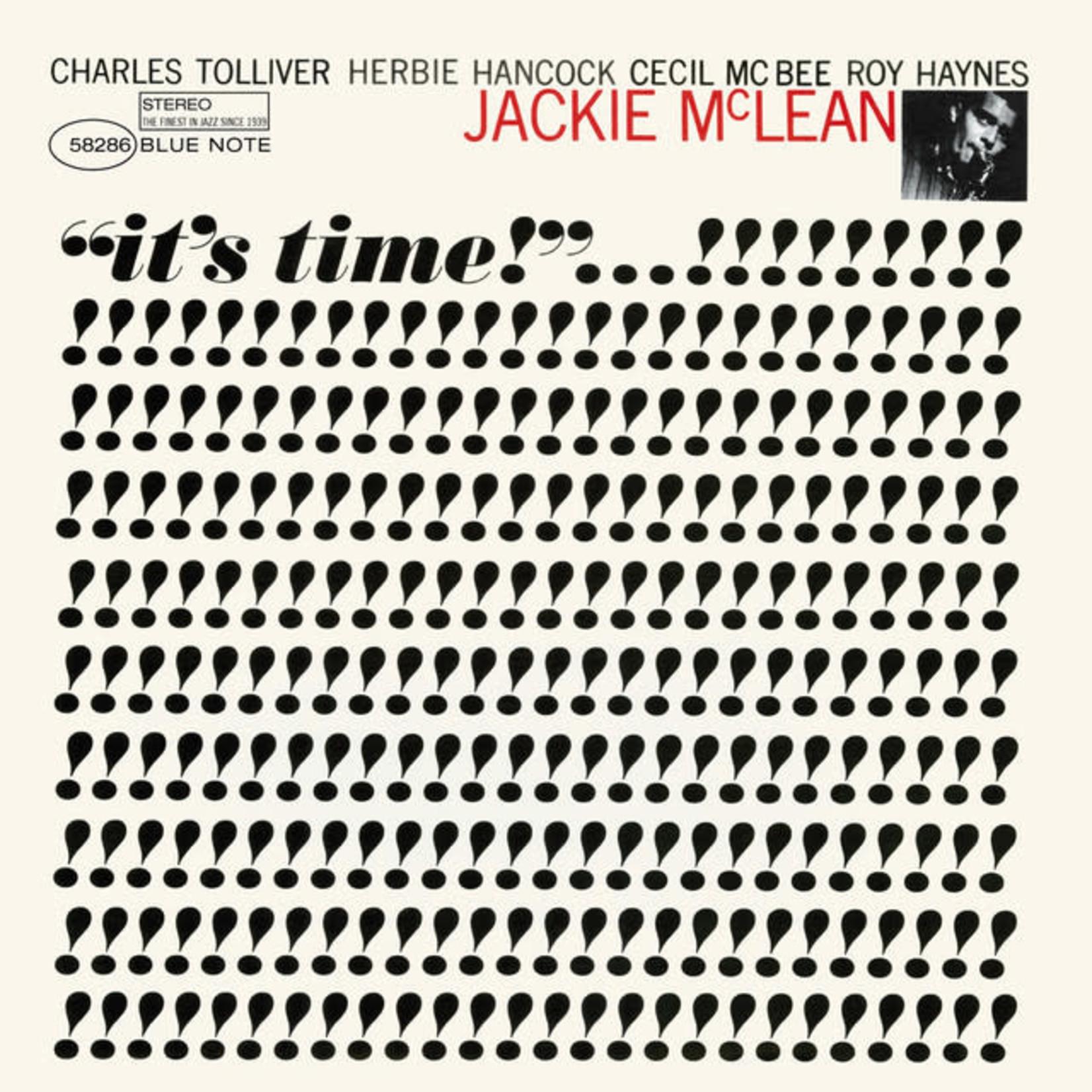 Vinyl Jackie McLean - It's Time (Tone Poet)