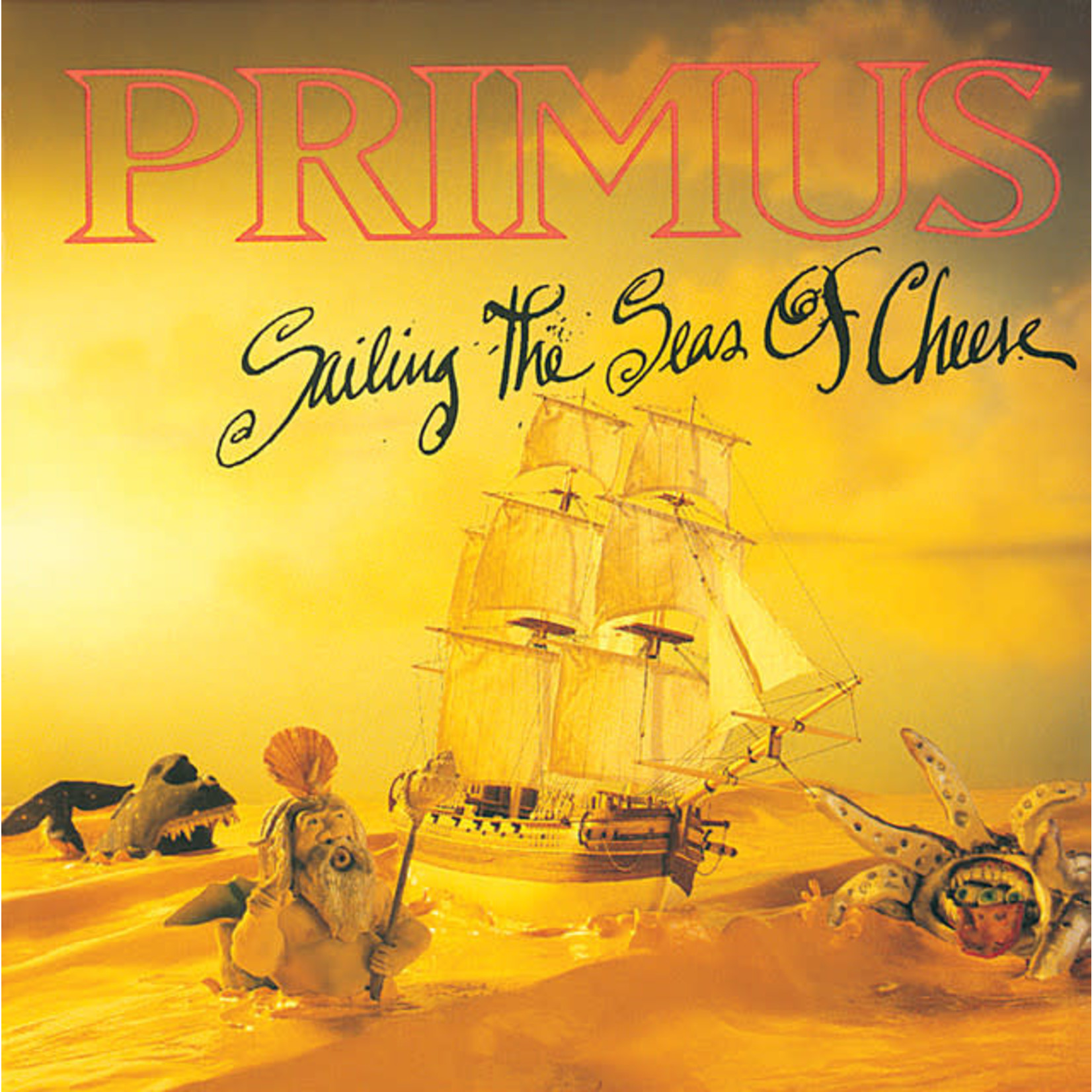 Vinyl Primus - Sailing The Seas Of Cheese