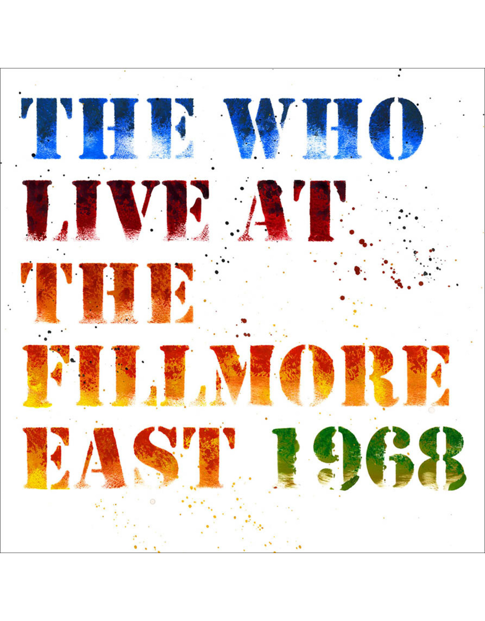 Vinyl The Who - Live at the Fillmore East 1968