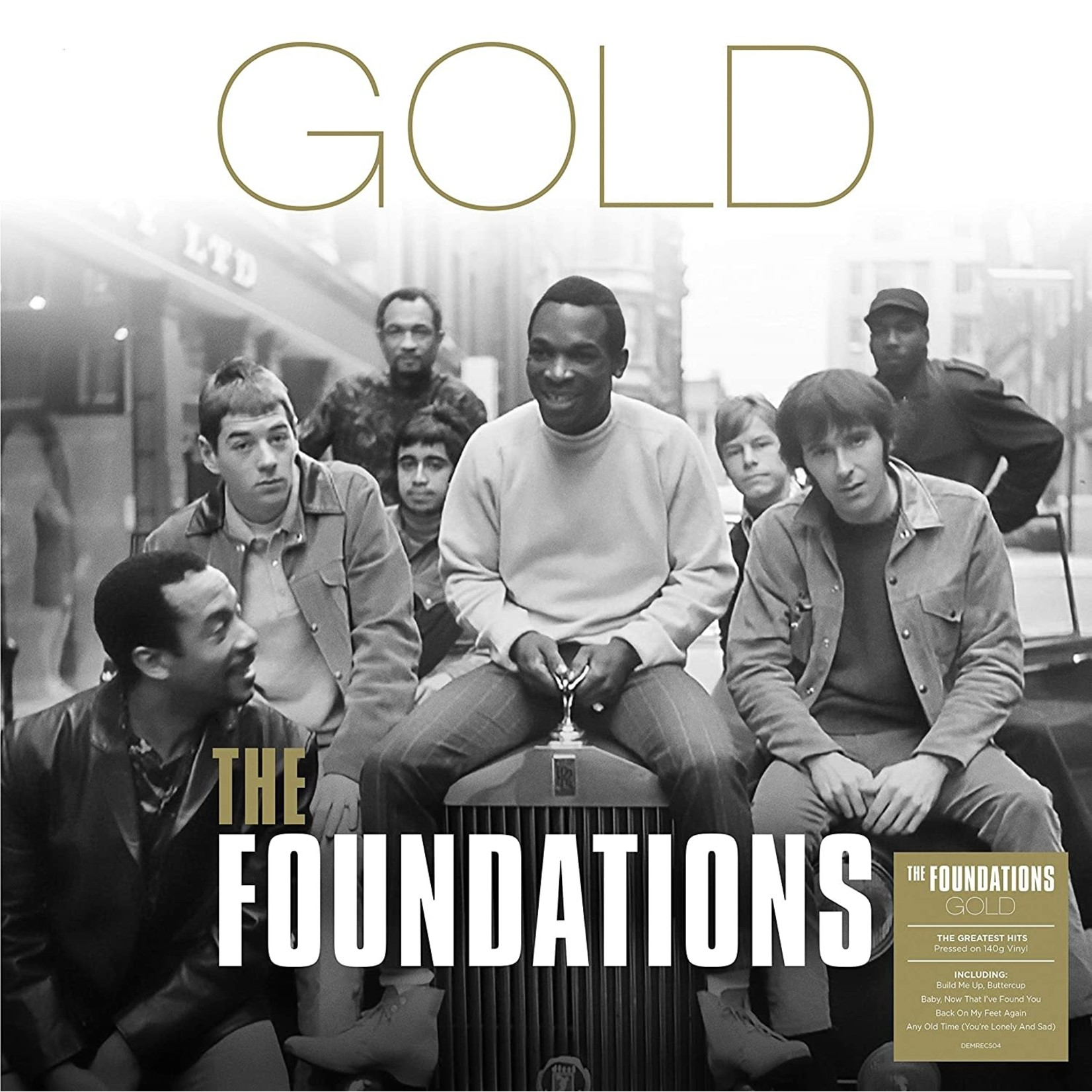 Vinyl The Foundations - Gold