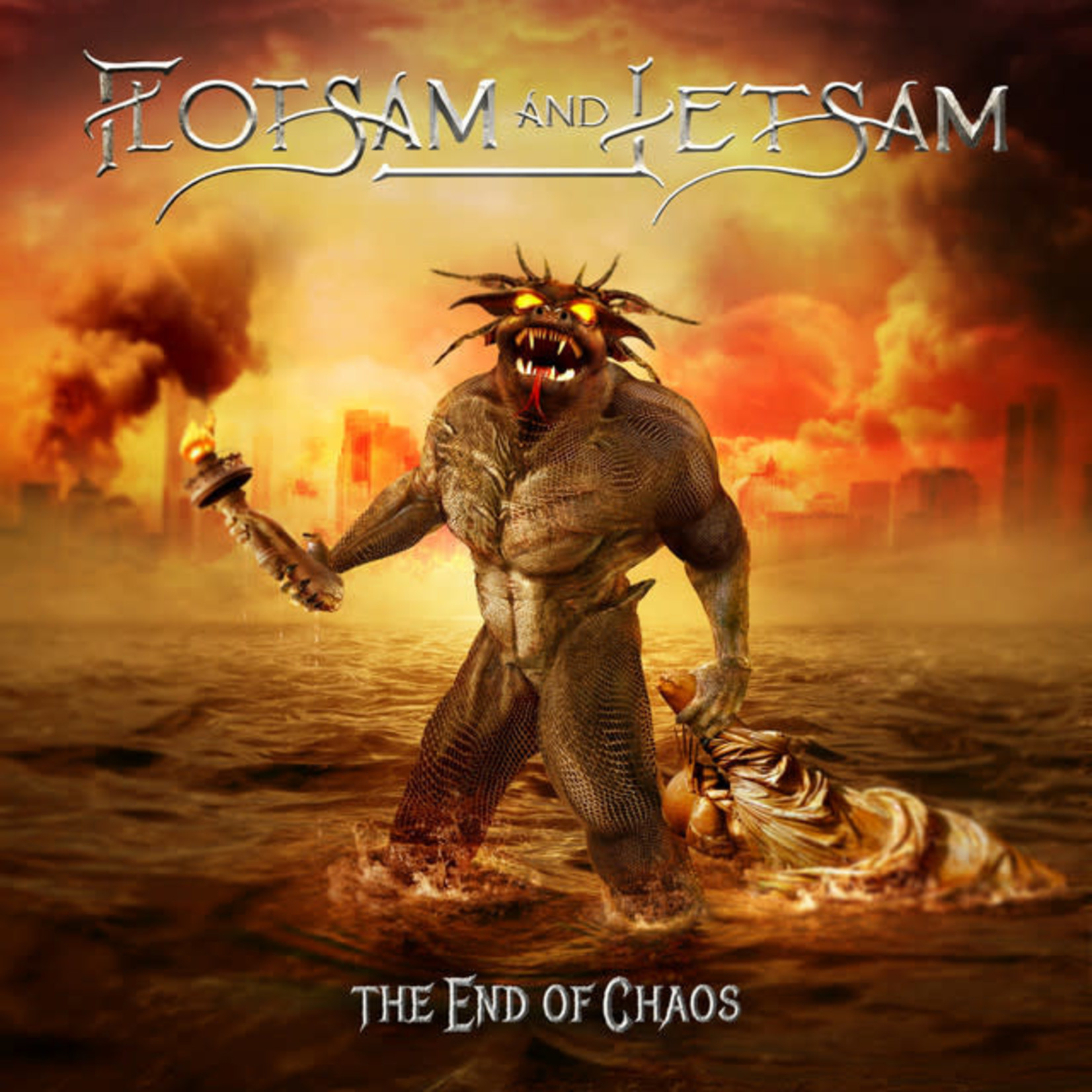 Vinyl Flotsam and Jetsam - The End Of Chaos. $20