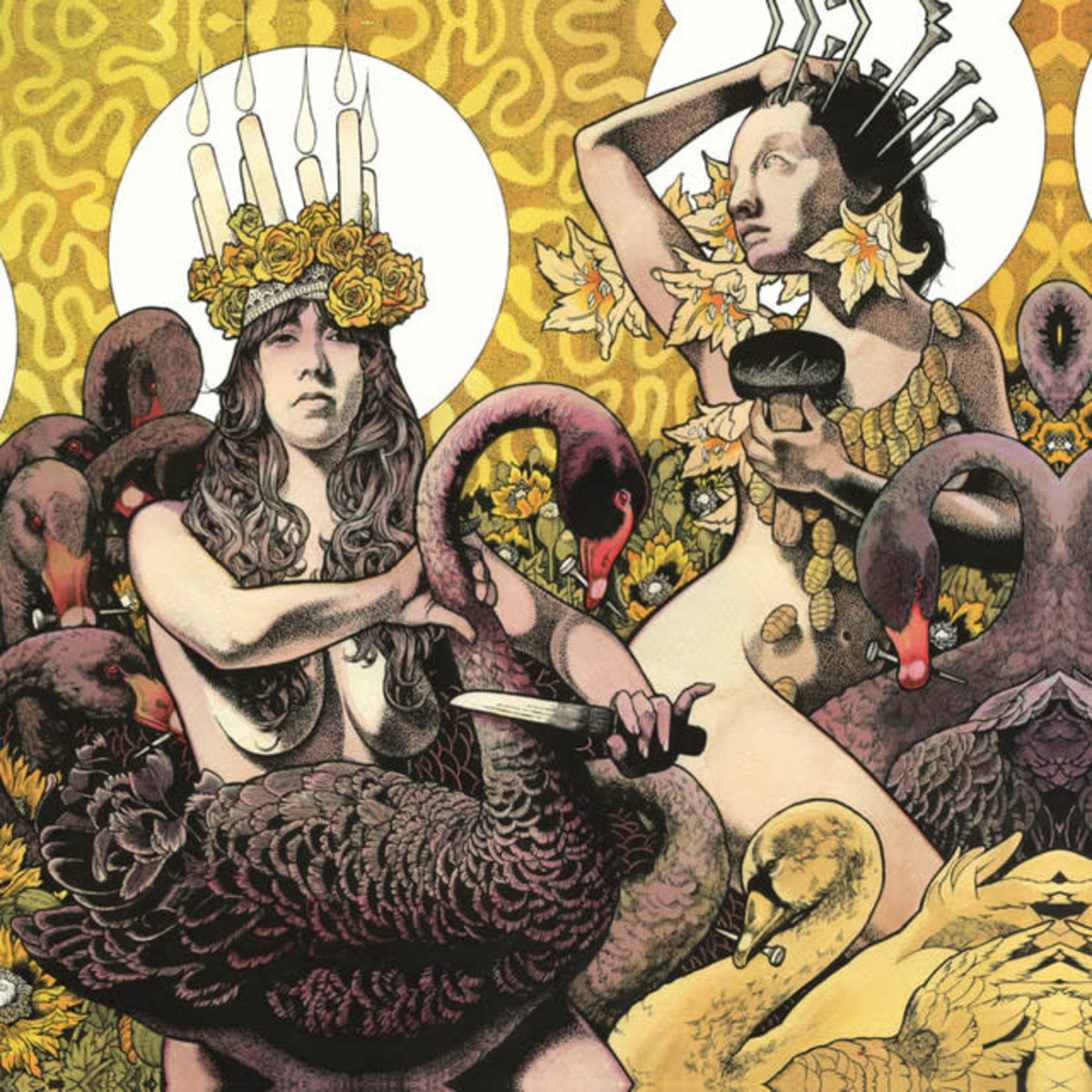 Vinyl Baroness - Yellow & Green