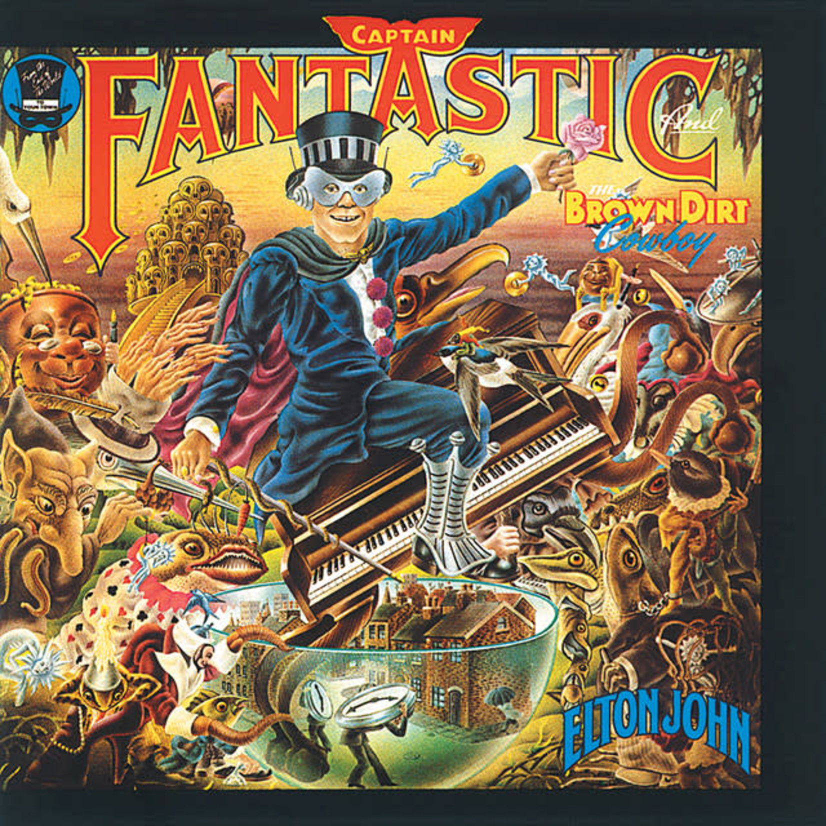 Vinyl Elton John - Captain Fantasic And The Brown Dirt Cowboy