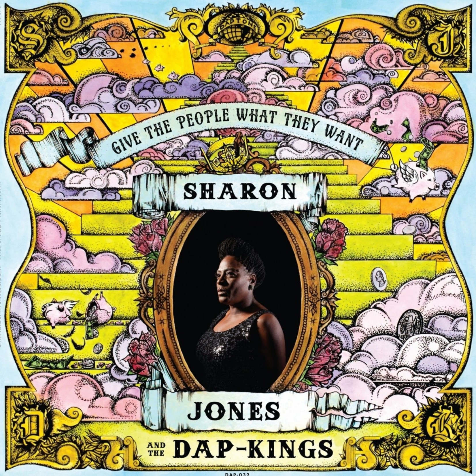 Vinyl Sharon Jones - Give The People What They Want