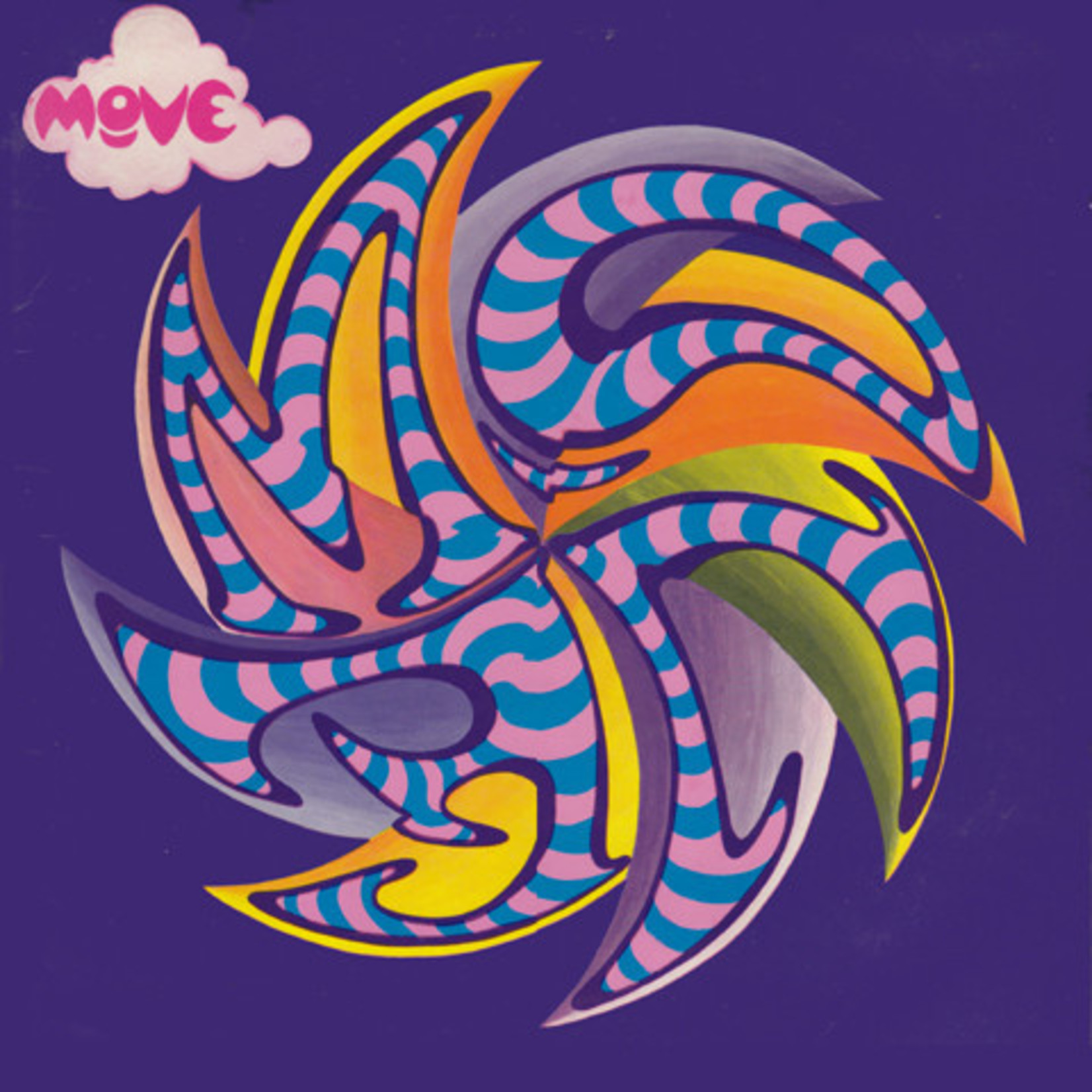 Vinyl The Move - S/T UK 1st Press
