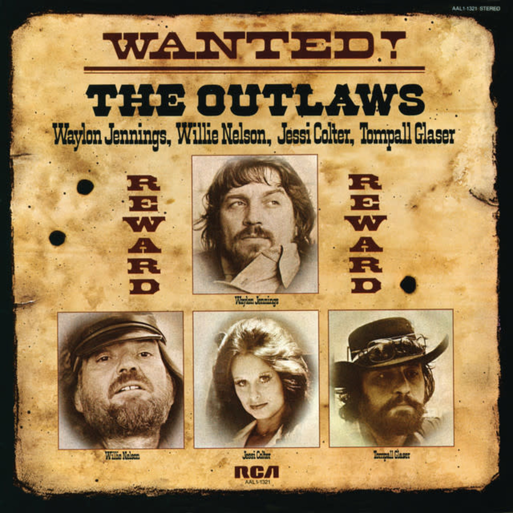 Vinyl The Outlaws - Wanted