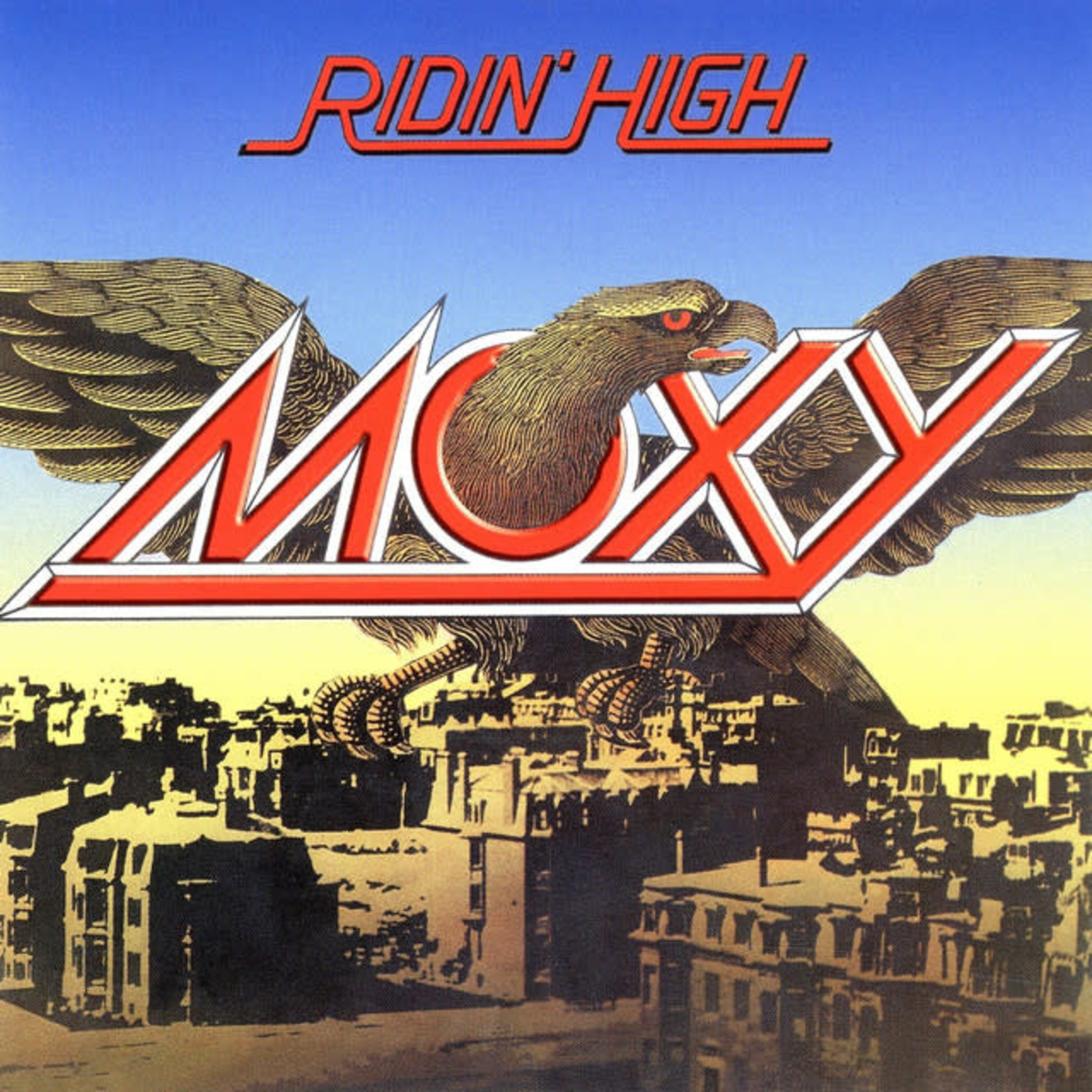Compact Disc Moxy - Riding High