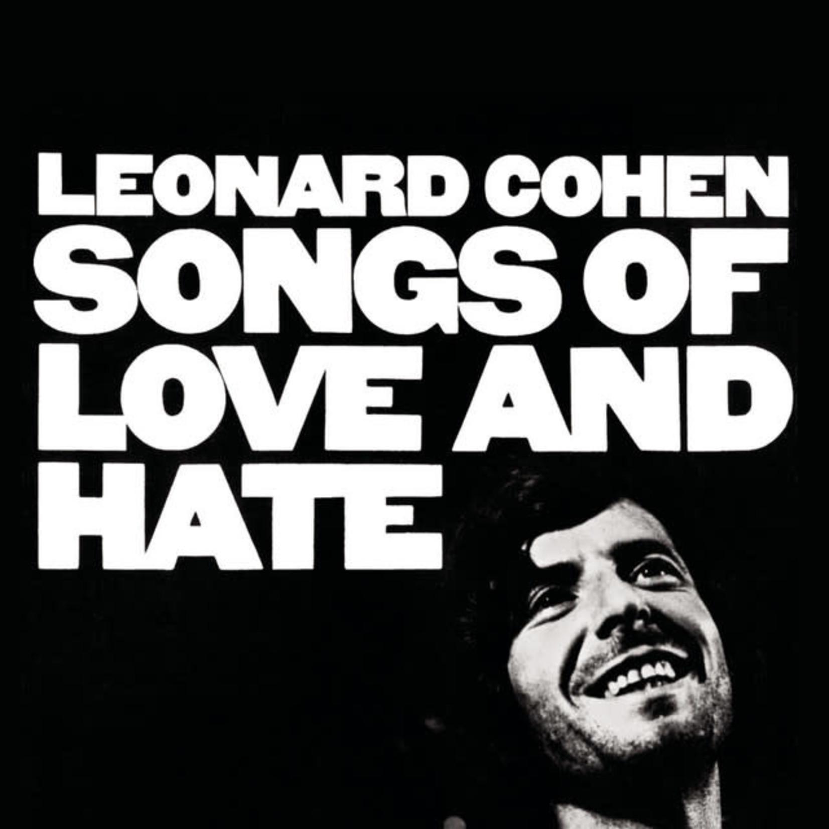 Vinyl Leonard Cohen - Songs Of Love And Hate