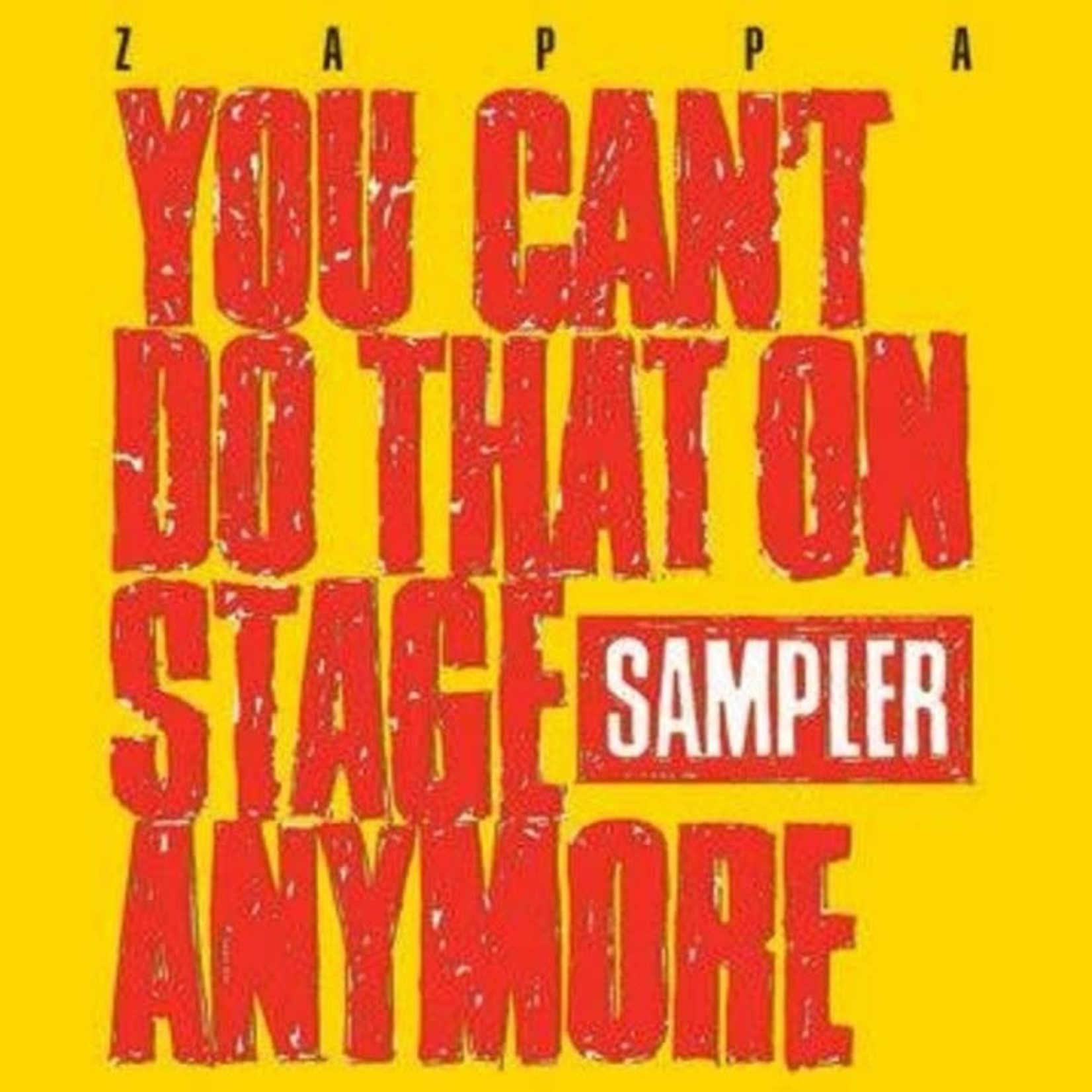 Vinyl Frank Zappa - You Can't Do That On Stage Anymore (2LP Yellow & Red) RSD2020