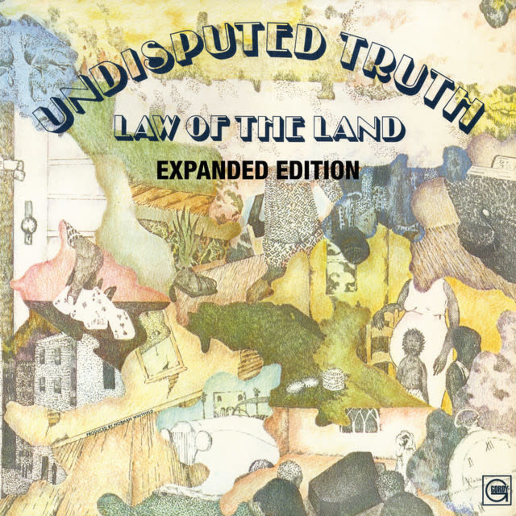 Vinyl The Undisputed Truth - Law Of The Land Final Sale
