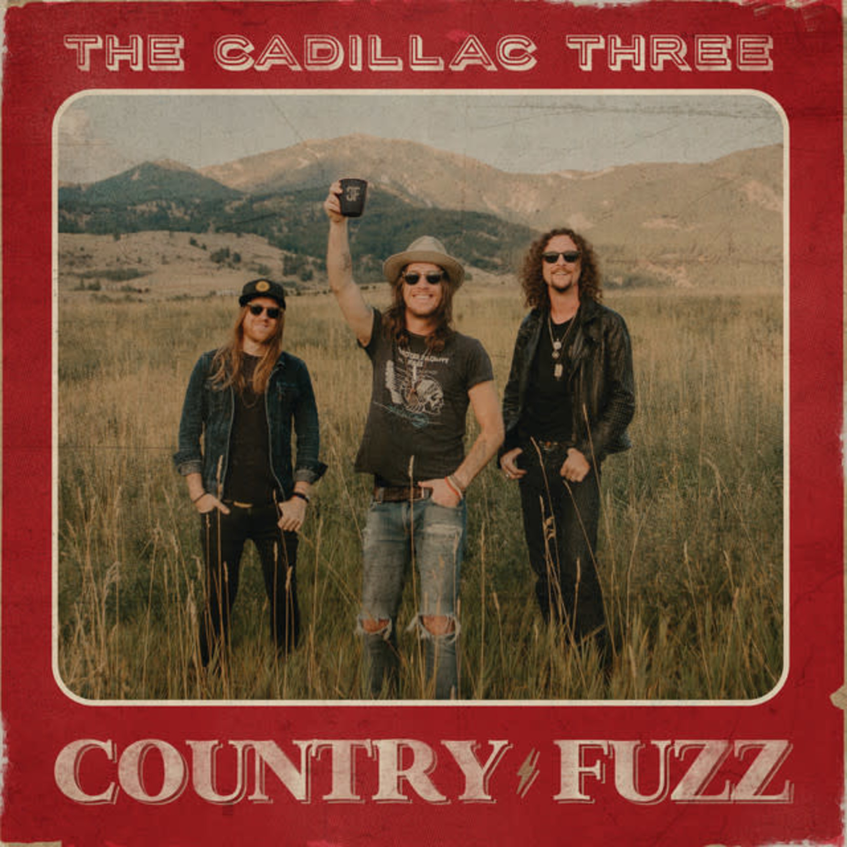 Vinyl The Cadillac Three - Country Fuzz.  Final Sale