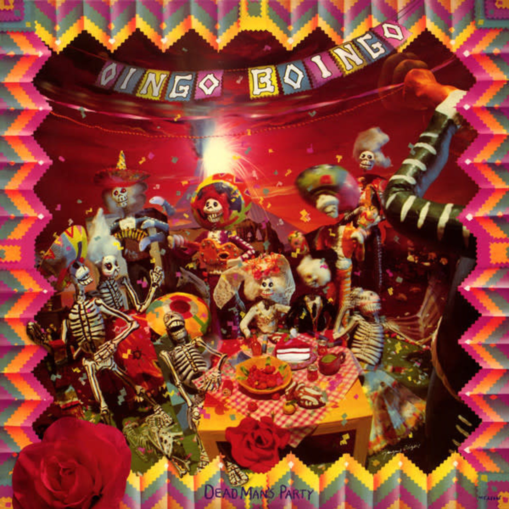 Vinyl Oingo Boingo - Dead Man's Party (Used)
