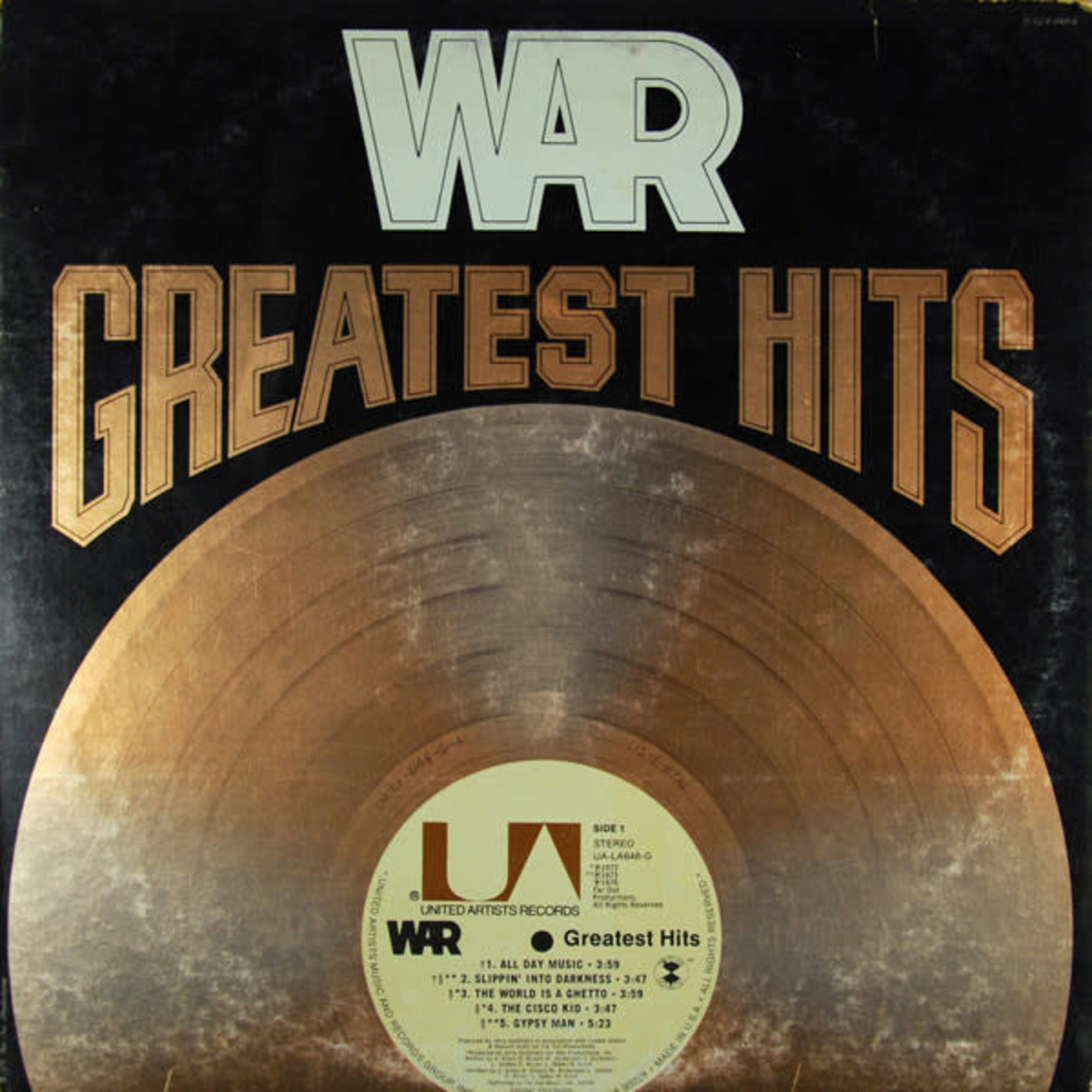 Vinyl War - Greatest Hits (Used)