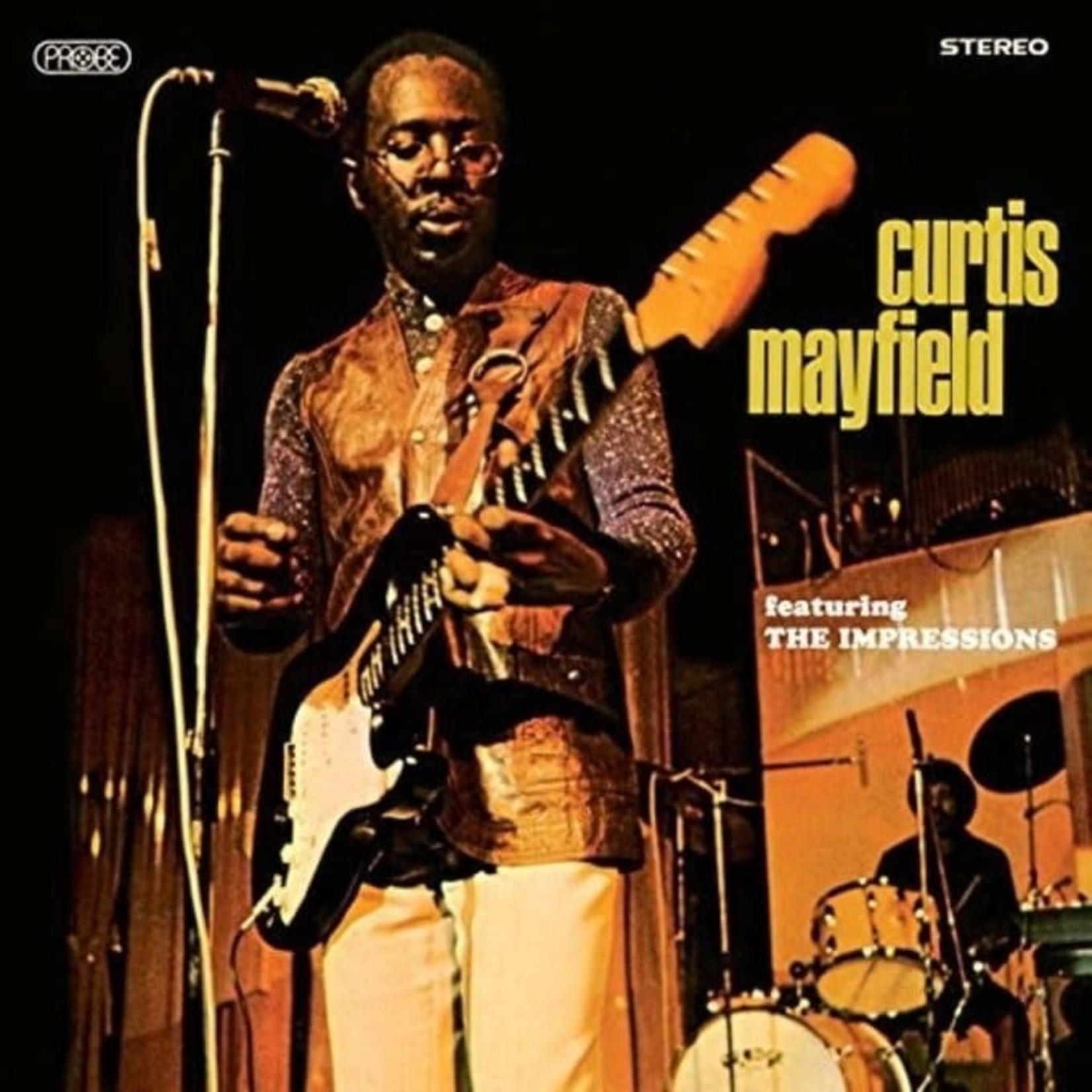 Vinyl Curtis Mayfield - Curtis Mayfield featuring The Impressions (180g)