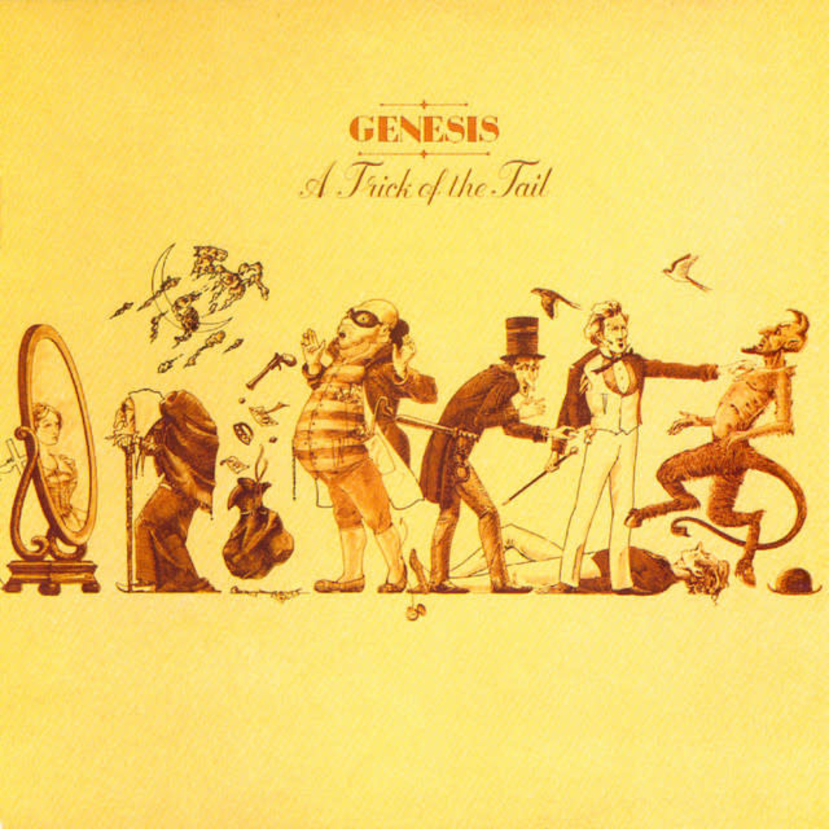 Vinyl Genesis - A Trick Of The Tail (Yellow Vinyl)