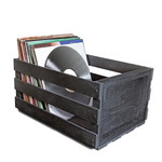 Accessory Ultralink  Record Storage Crate – Black