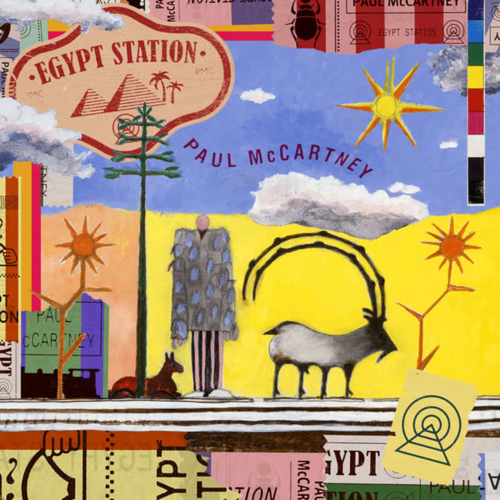 Compact Disc Paul McCartney - Egypt Station (CD)