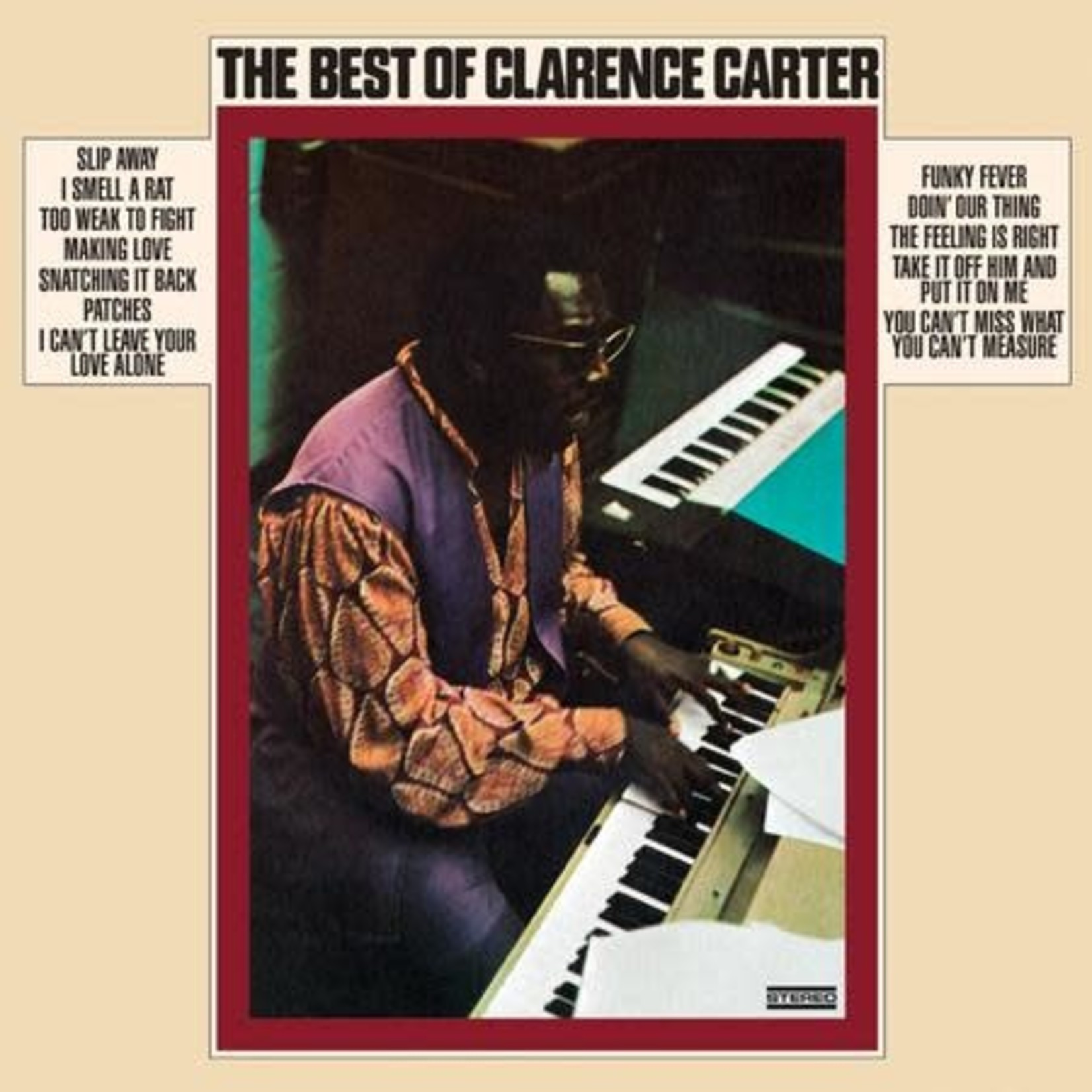 Vinyl Clarence Carter - The Best Of. $$