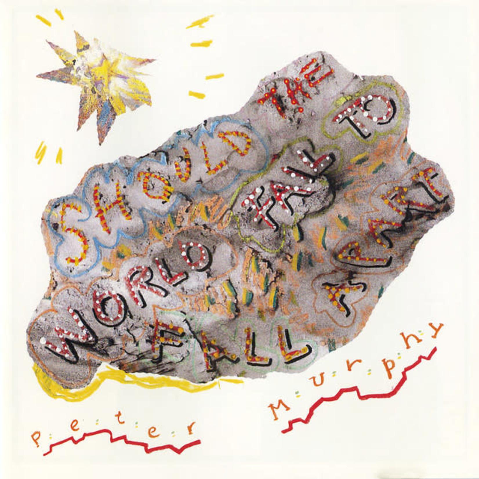 Vinyl Peter Murphy - Should The World Fail To Fall Apart  (Blue Coloured Vinyl)