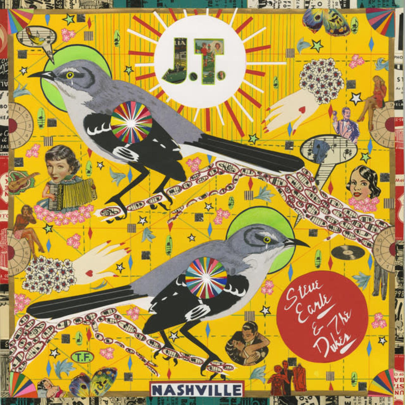 Vinyl Steve Earle & The Dukes  - J. T. (Indie Store Version)