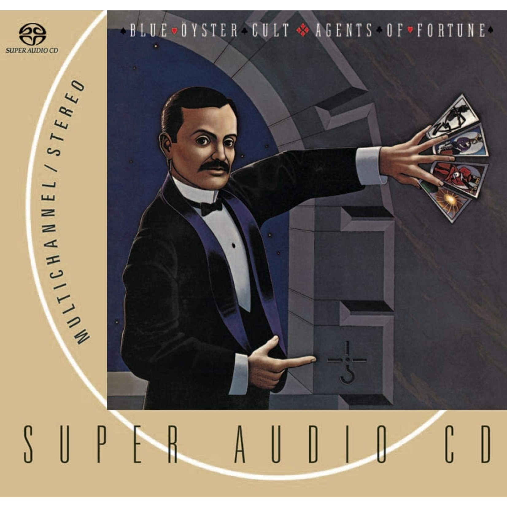 Compact Disc Blue Oyster Cult - Agents Of Fortune SACD (USED)