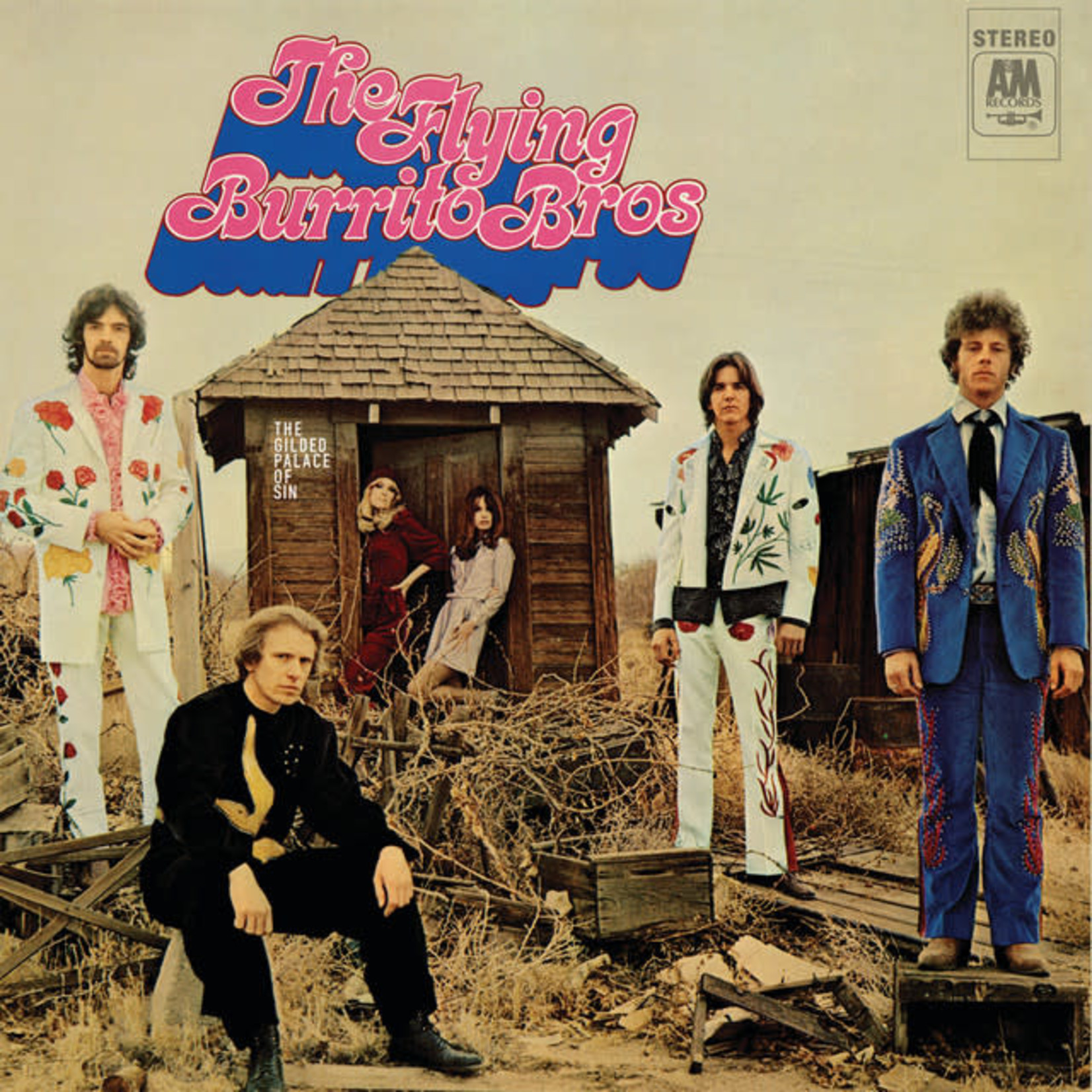 Compact Disc The Flying Burrito Brothers - The Gilded Palace Of Sin  SACD