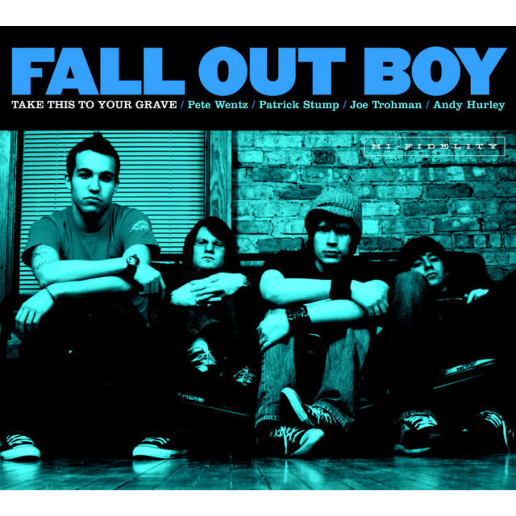 Vinyl Fall Out Boy -  Take This To Your Grave (Limited Silver Vinyl)