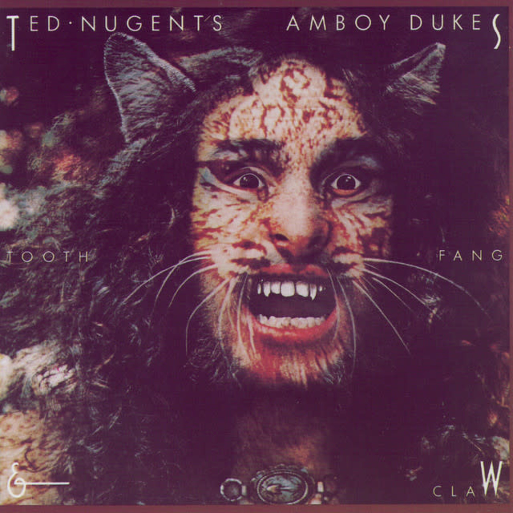 Vinyl Ted Nugent's Amboy Dukes - Tooth Fans & Claw (Used)