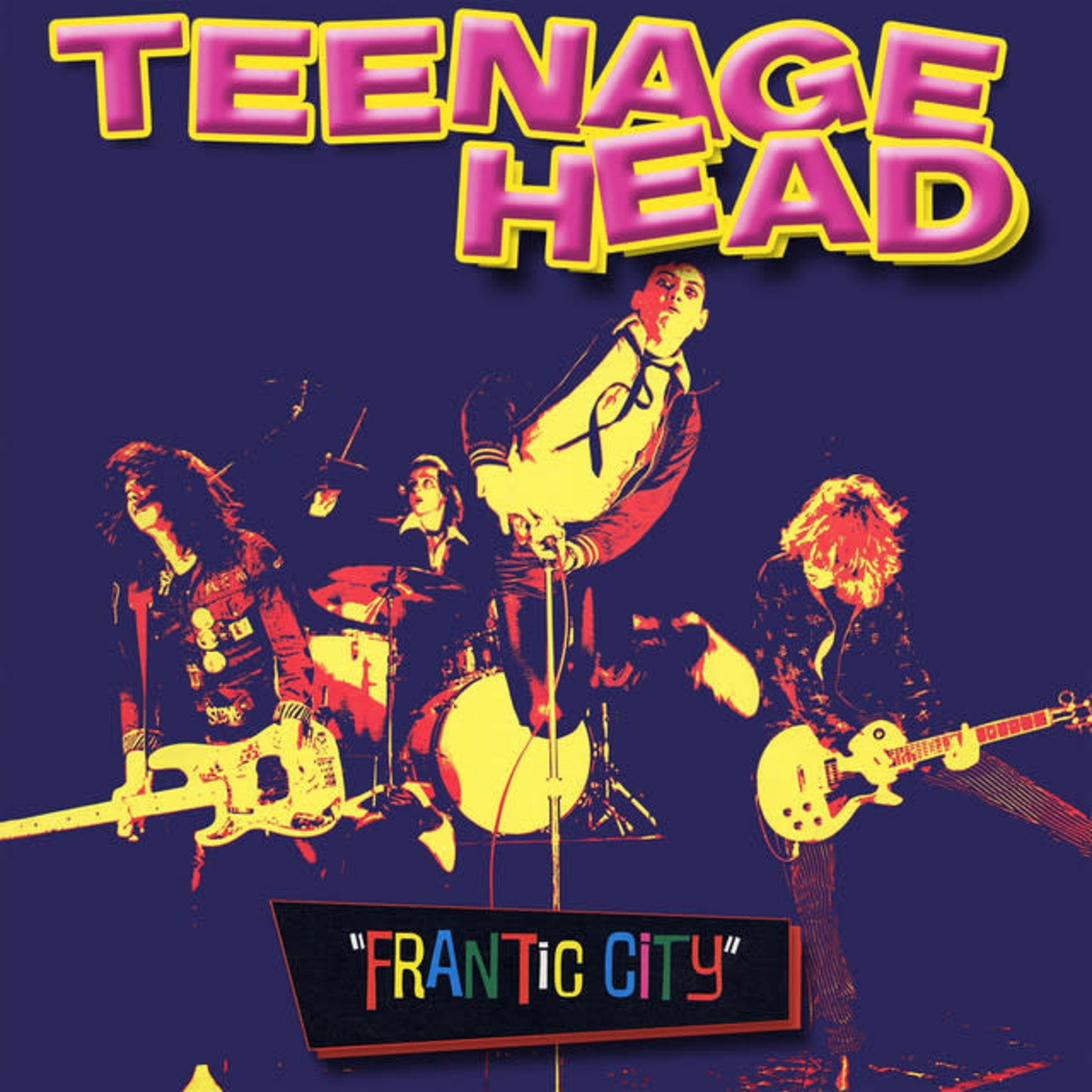 Vinyl Teenage Head - Frantic City