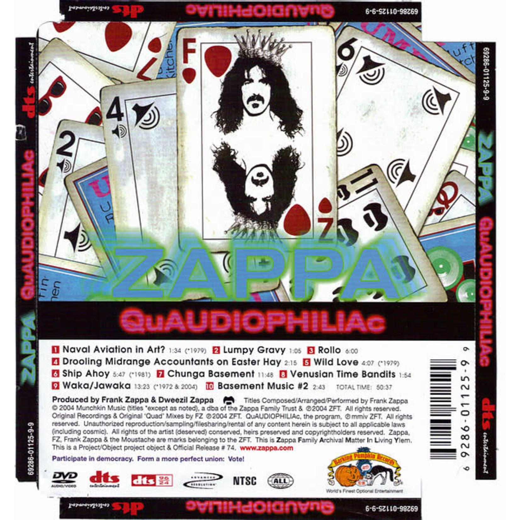 Compact Disc Frank Zappa - QuAUDIOPHILIAc (Used)
