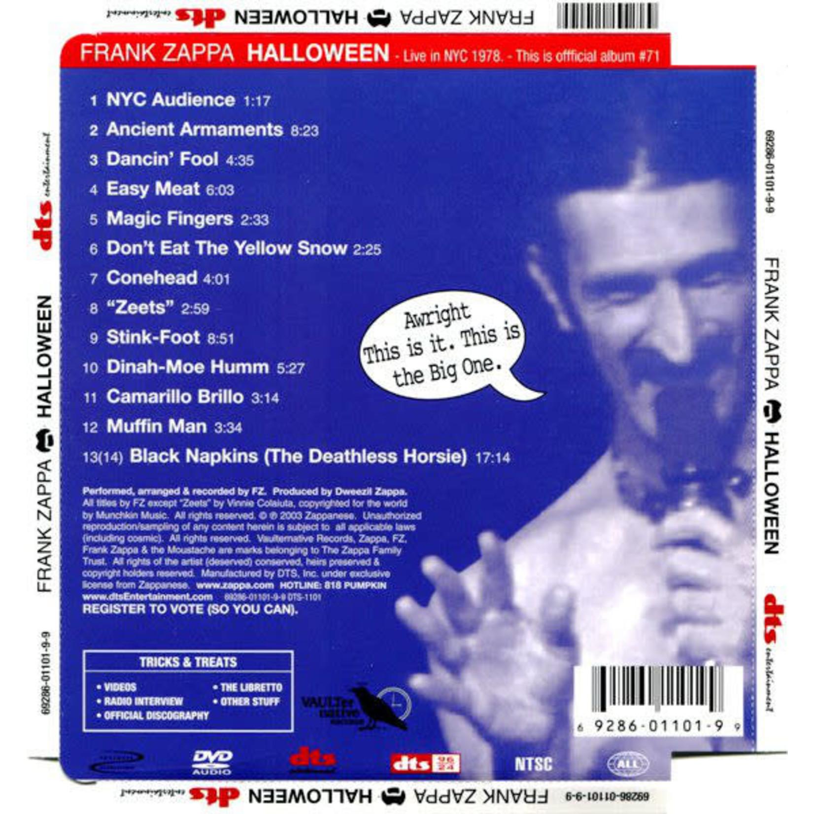 Compact Disc Frank Zappa - Halloween (Used)
