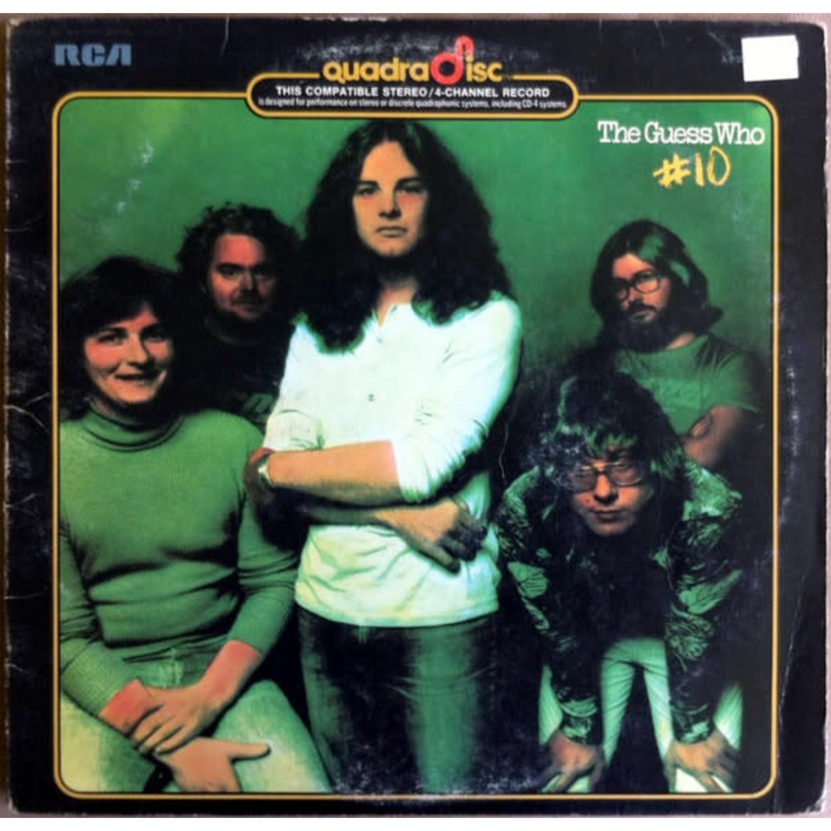 Vinyl The Guess Who - # 10  (Quad Version)