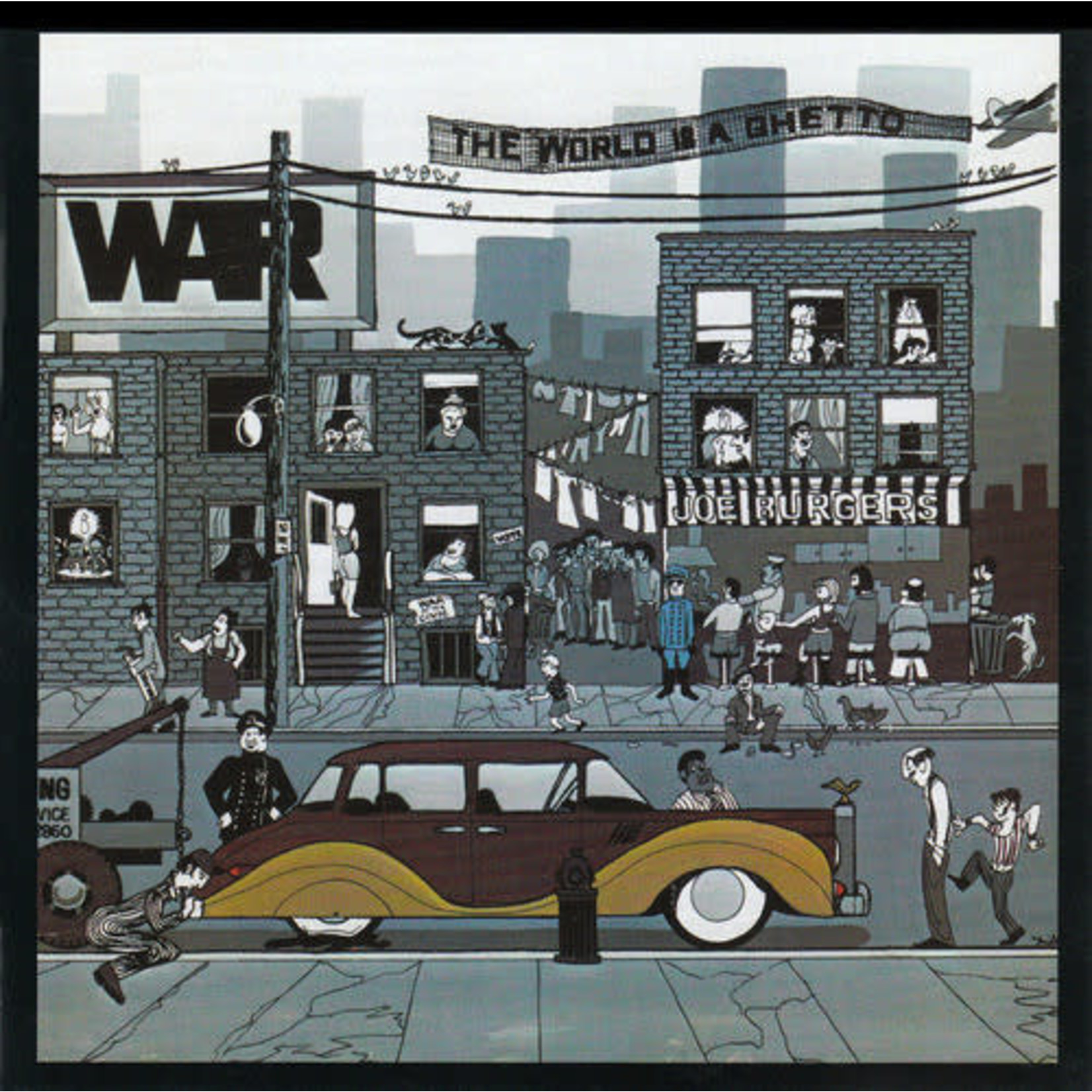 Vinyl War - The World Is  A Ghetto (Used)