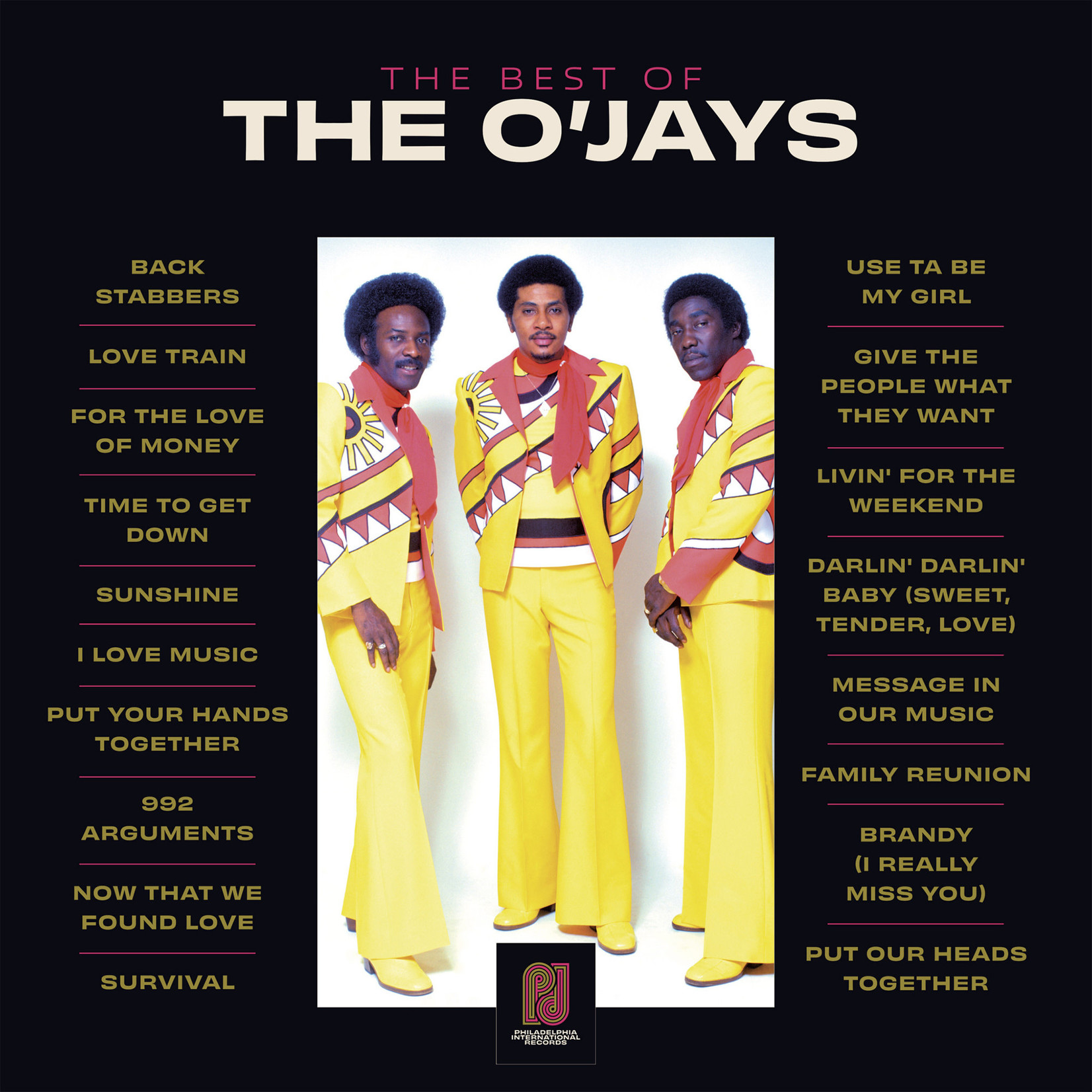 Vinyl The O'Jays - The Best Of
