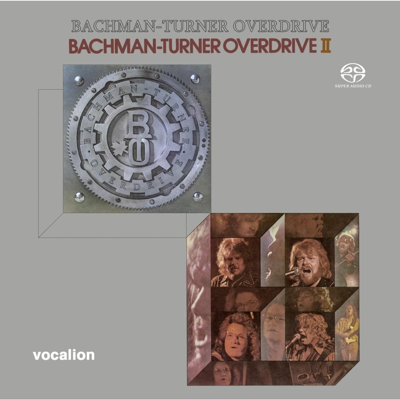 Compact Disc Bachman-Turner Overdrive & Bachman-Turner Overdrive II [SACD Hybrid Multi-Channel]