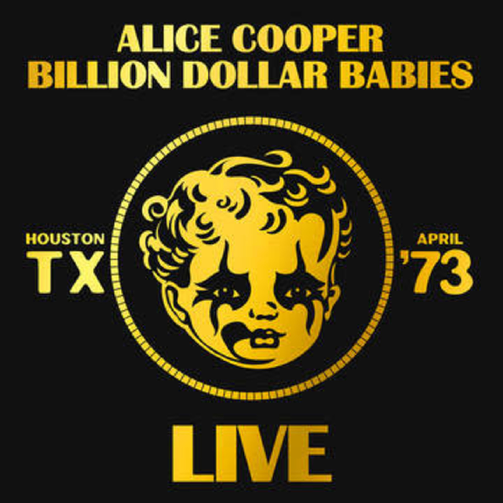 Vinyl Alice Cooper - Billion Dollar Babies Live '73.   RSD