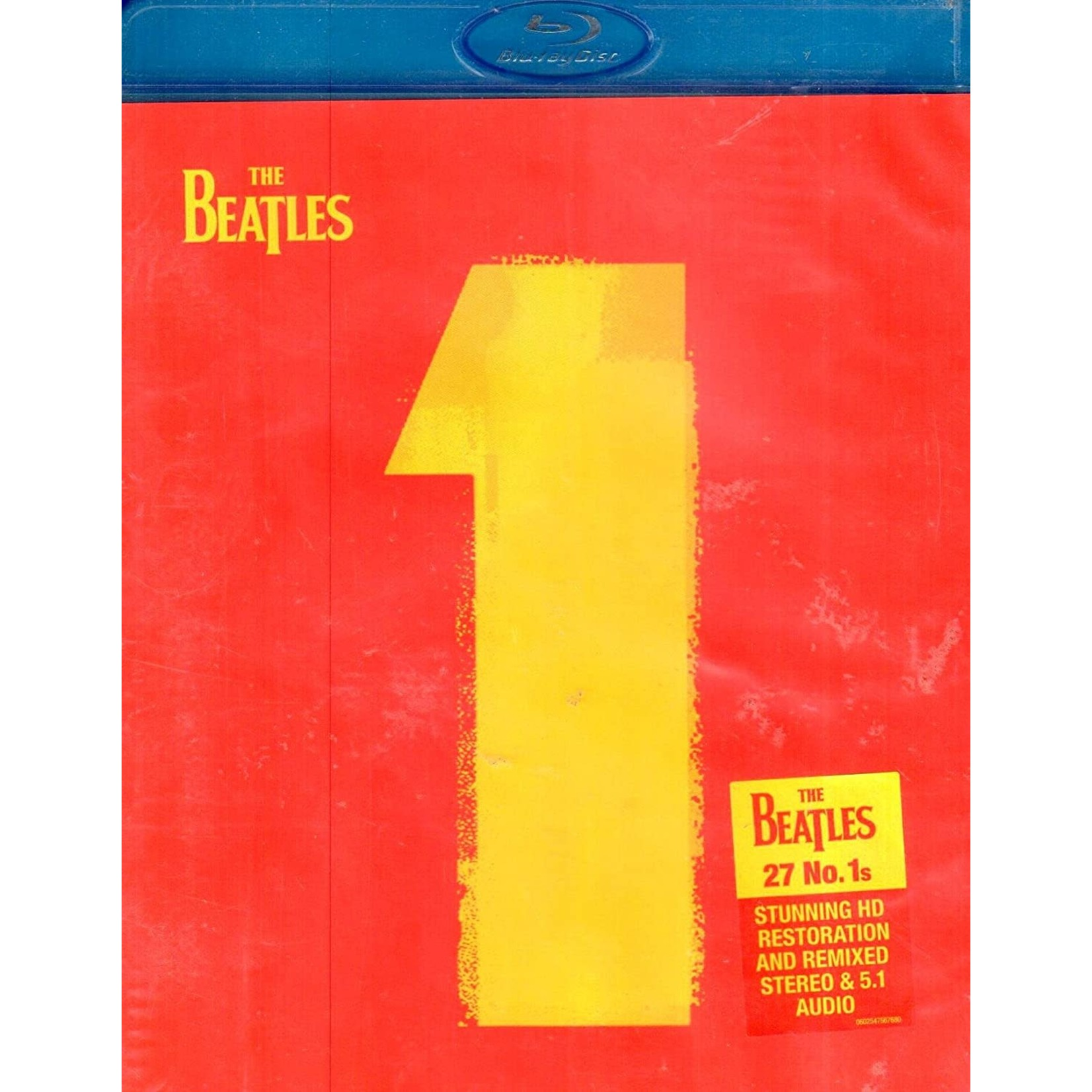 Compact Disc The Beatles -1    (Blu-Ray )