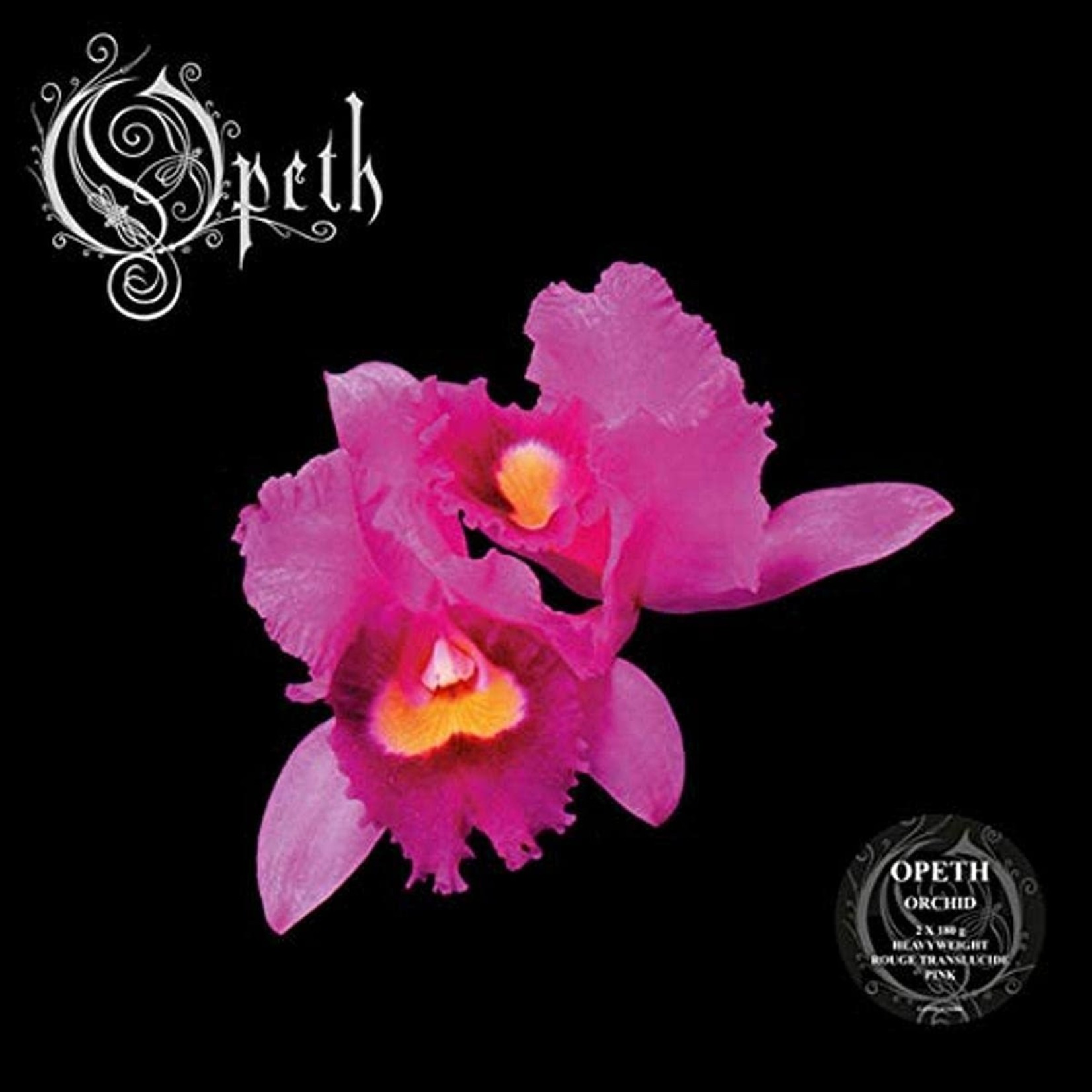 Vinyl Opeth - Orchid  (Pink,Red & White Marble Vinyl)