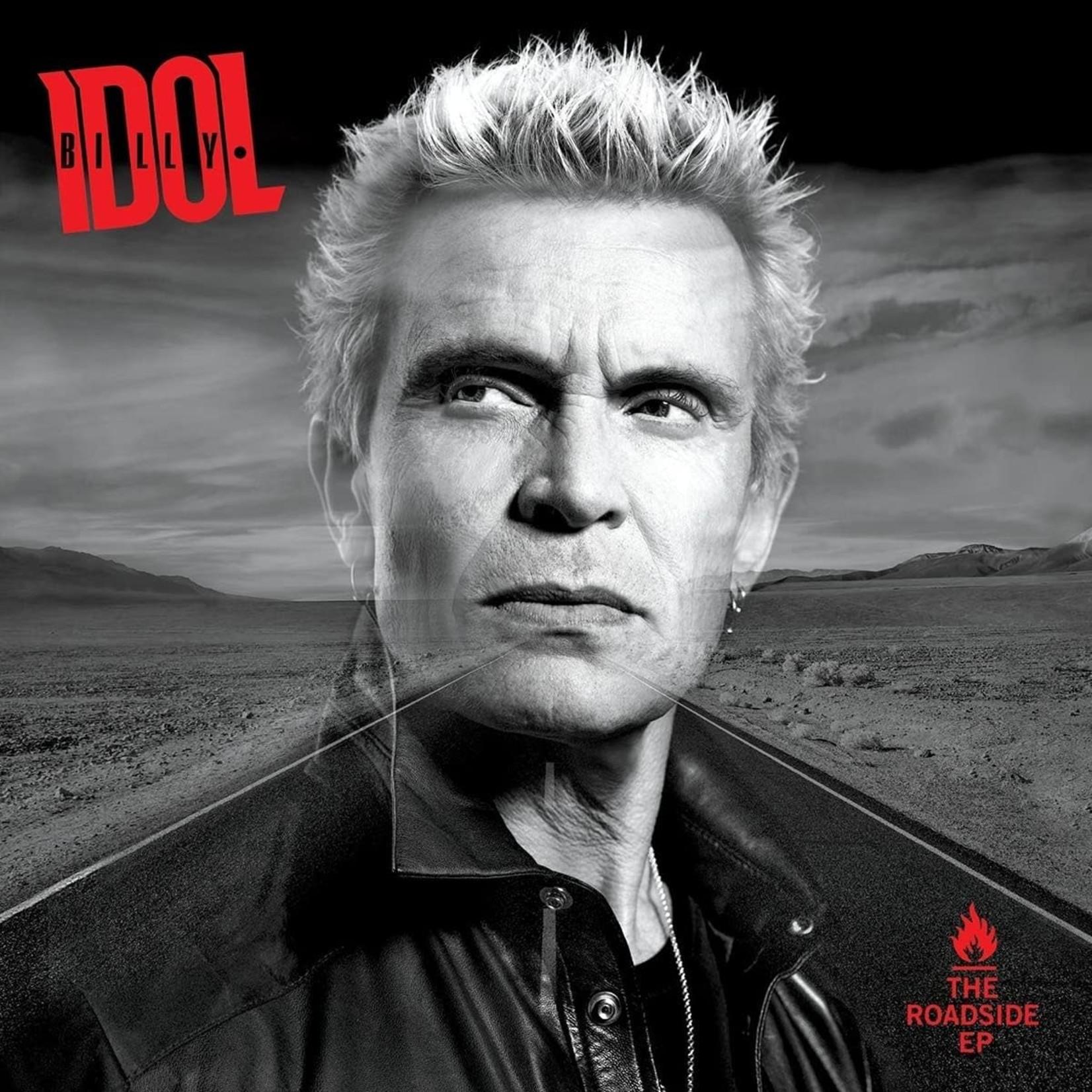 Vinyl Billy Idol - The Roadside EP (Blue Vinyl)