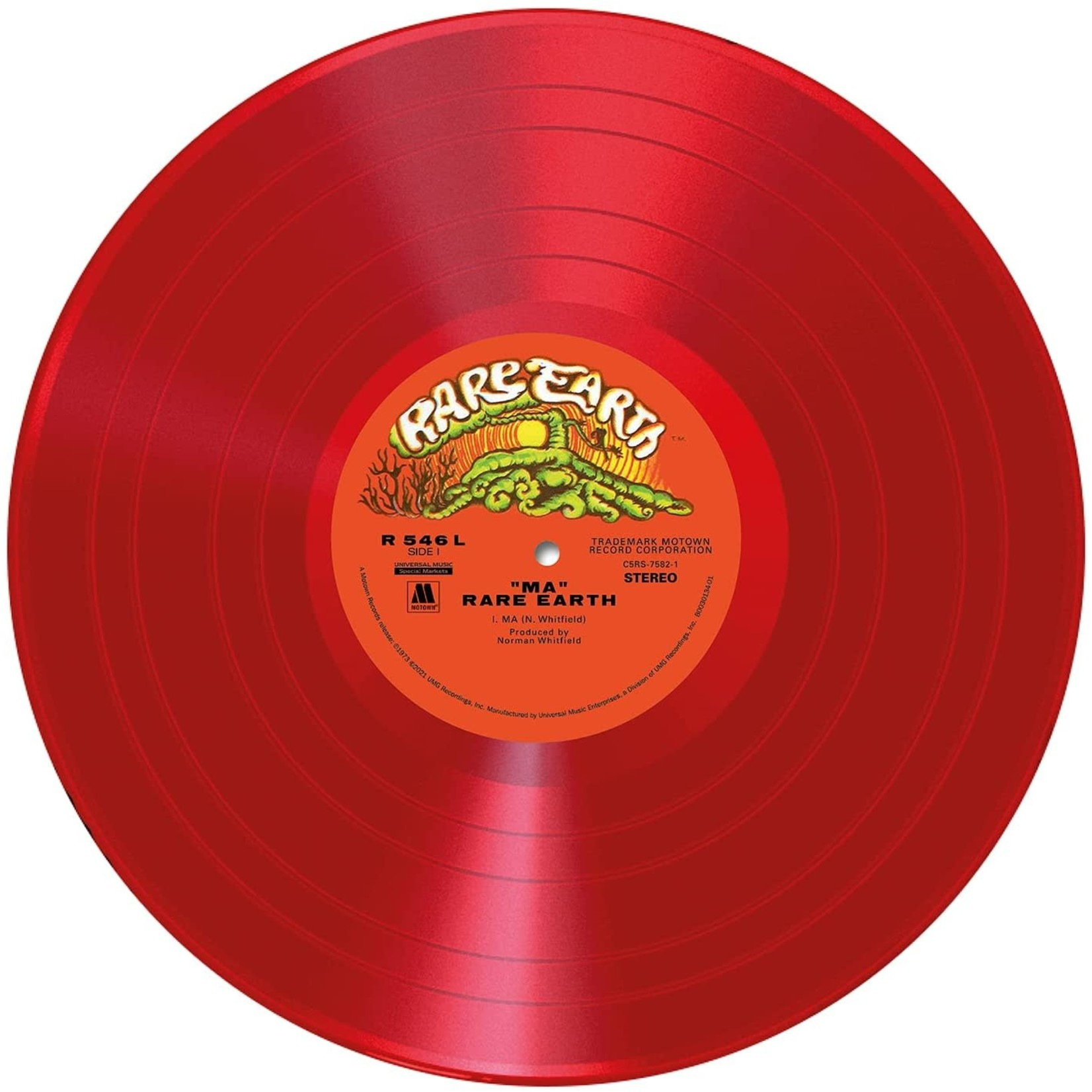 Vinyl Rare Earth - MA  (Red Vinyl)