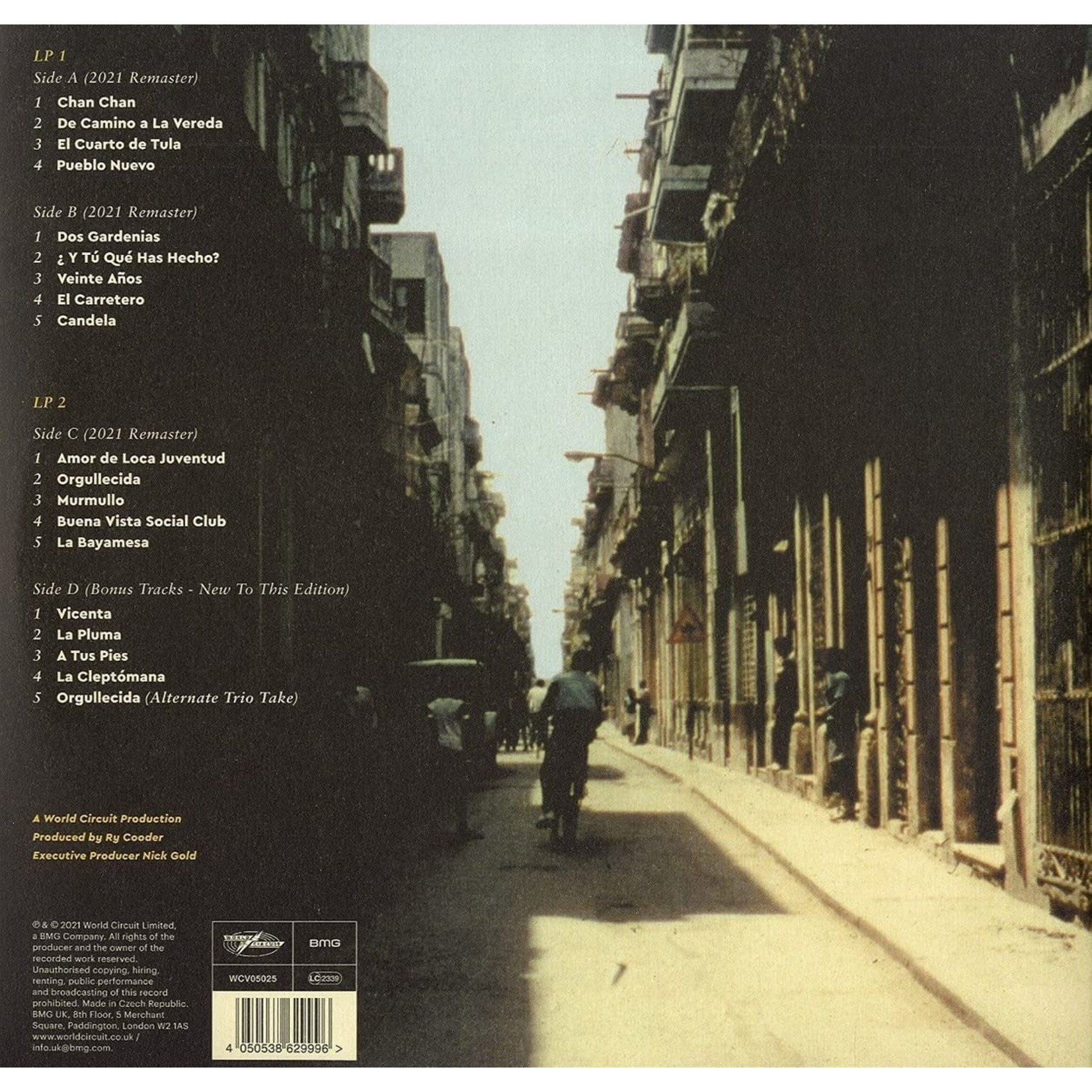 Vinyl Buena Vista Social Club - ST  (25th Anniversary)