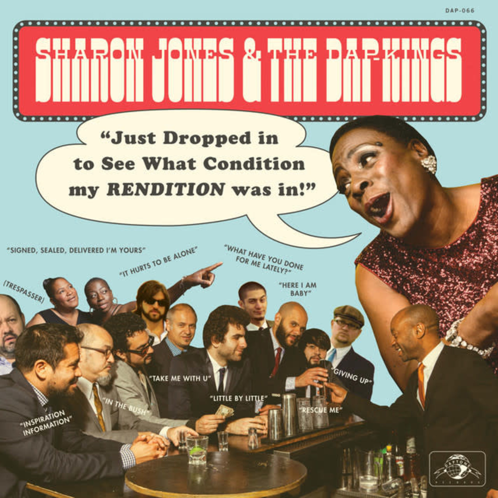 Vinyl Sharon Jones - Just Dropped In