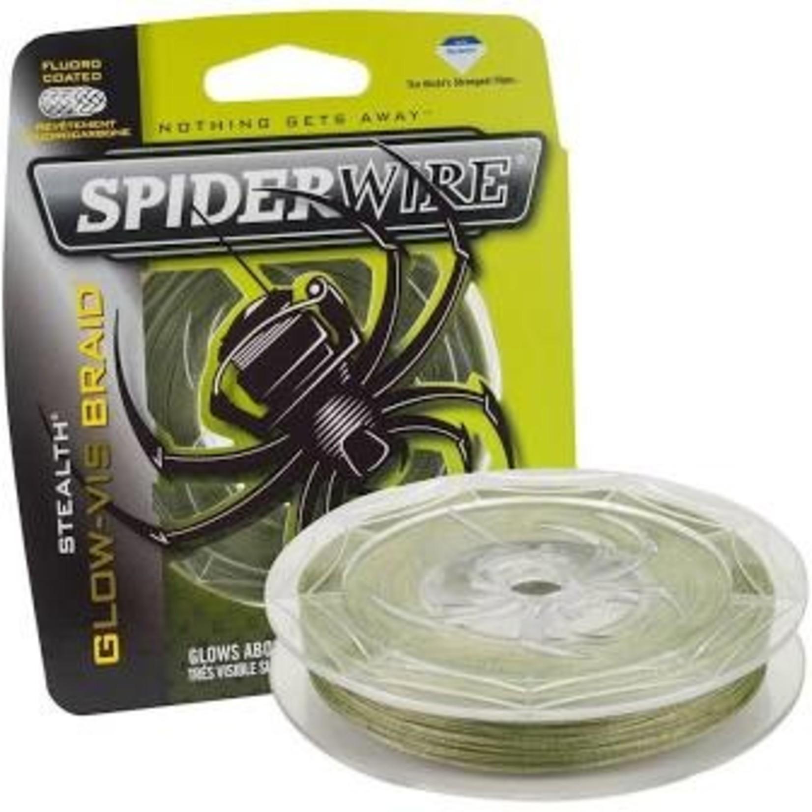 SpiderWire Stealth Glow-Vis Braid SCS65GV-125